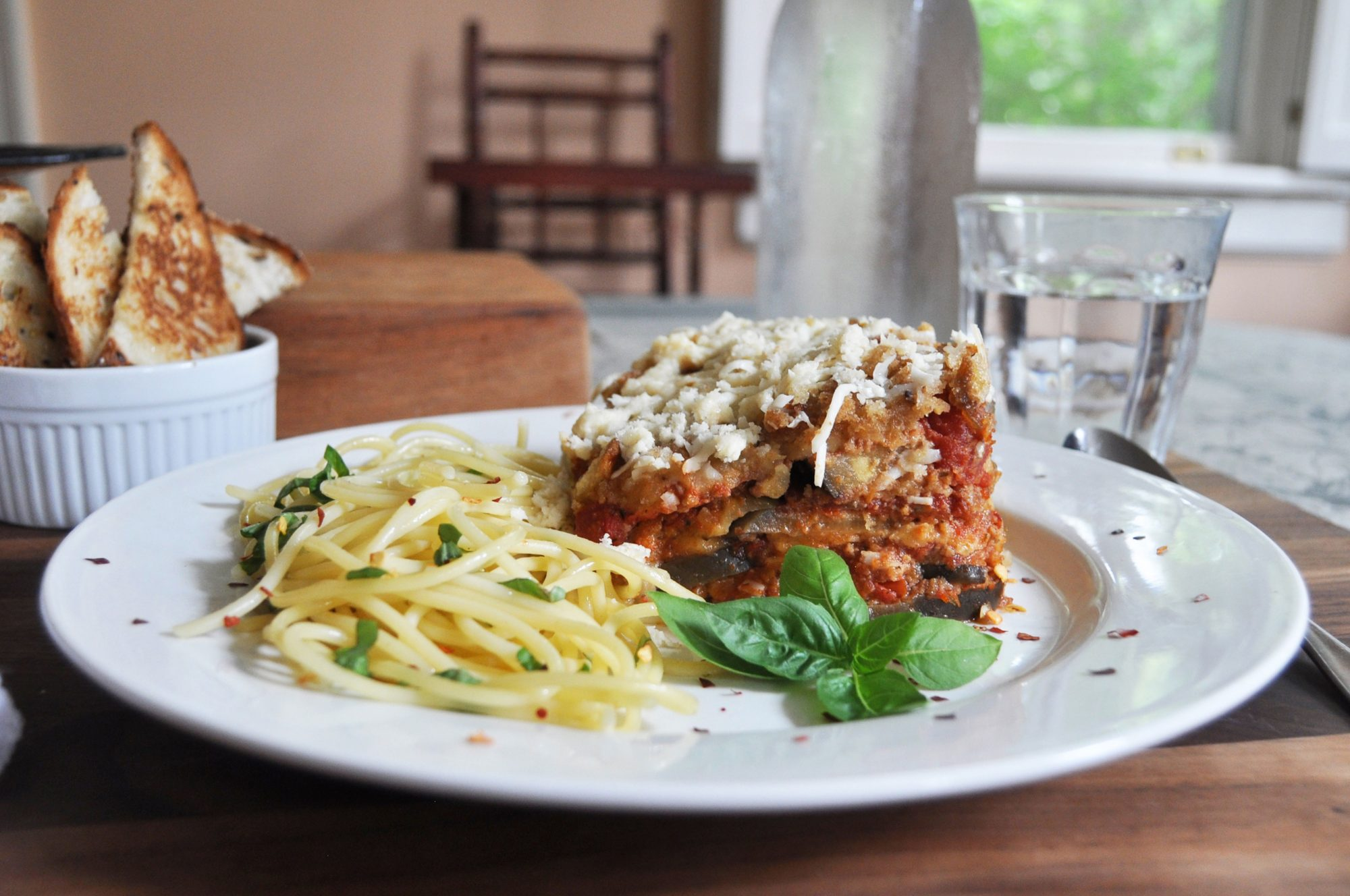 Anne Wolfe Postic's Slow Cooker Eggplant Parmesan