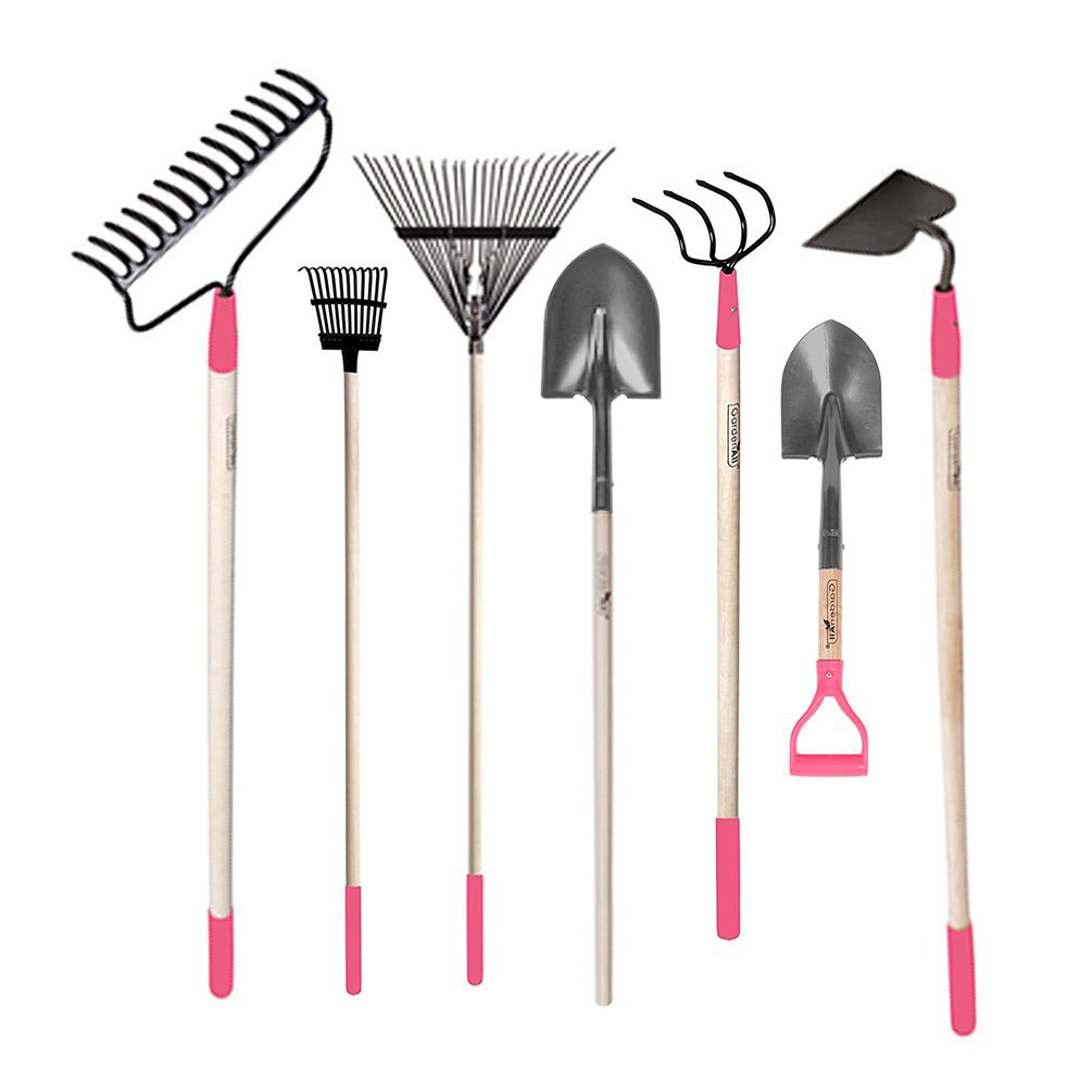 GardenAll 7-Pieces Women Garden Tools Set