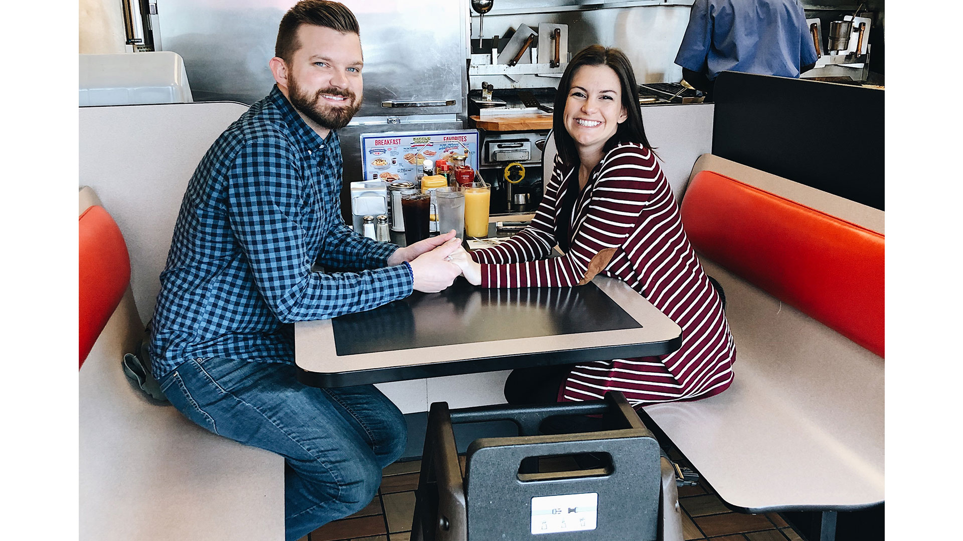 Waffle House Baby Announcement