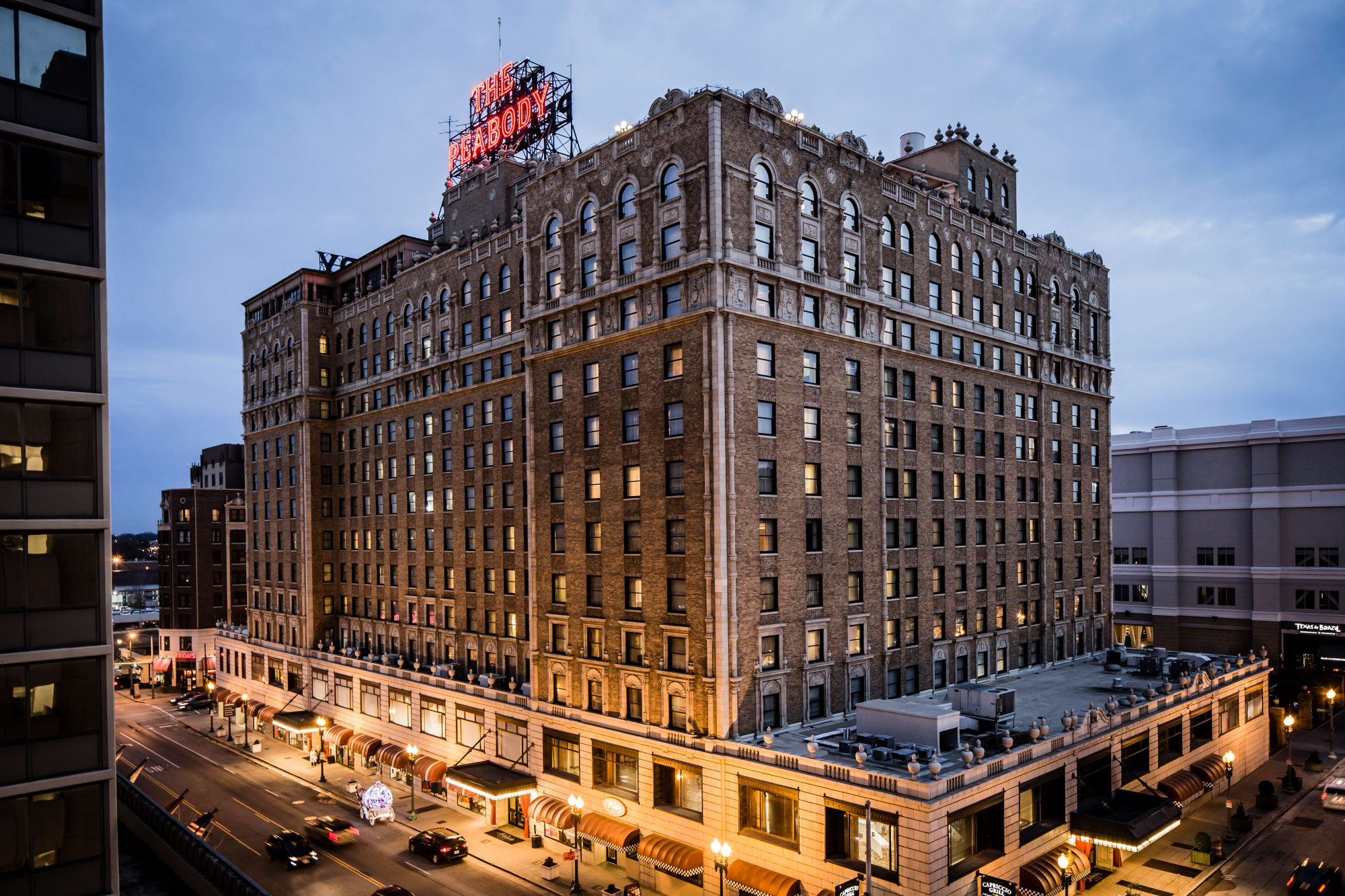 Historic Hotel: The Peabody Memphis (Memphis, Tennessee)