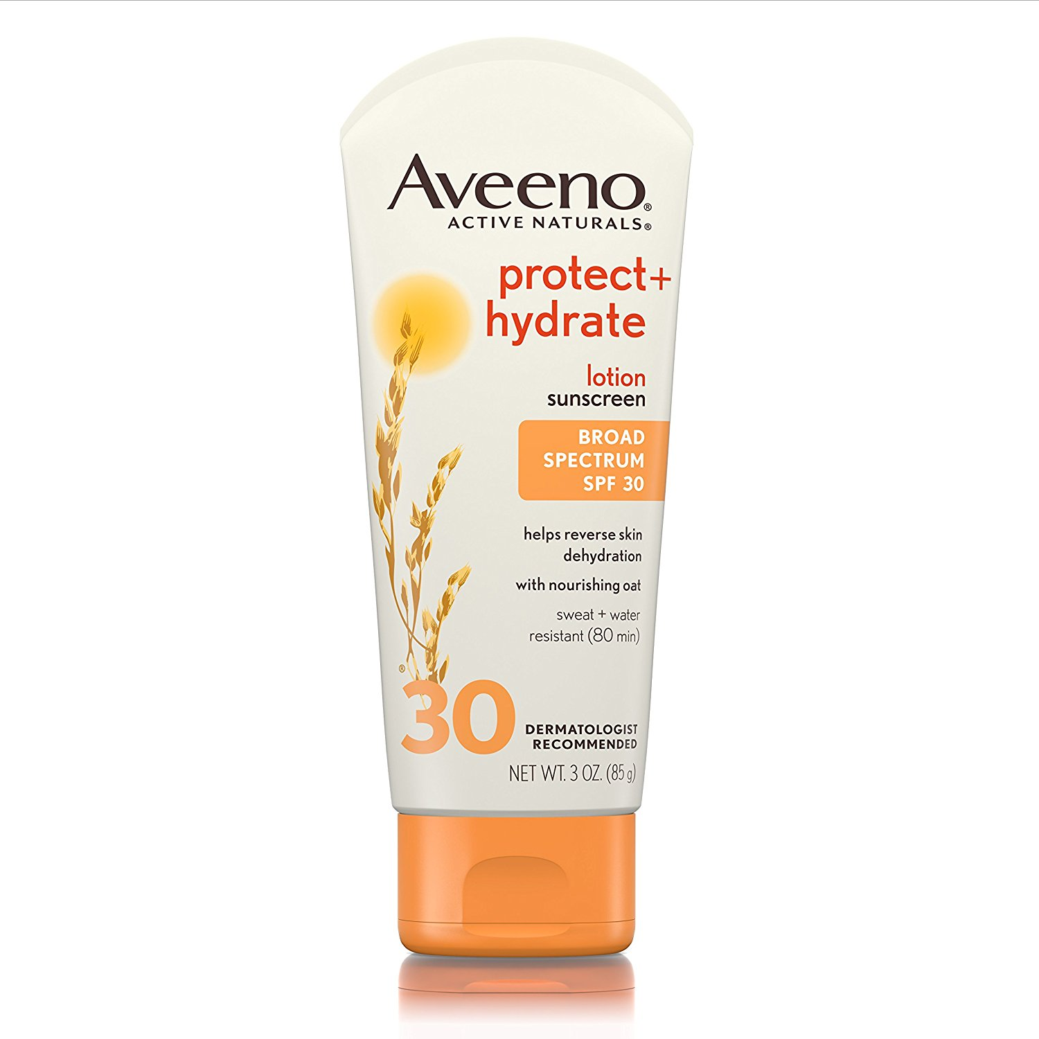 Aveeno Protect + Hydrate Lotion Sunscreen with Broad Spectrum SPF 30