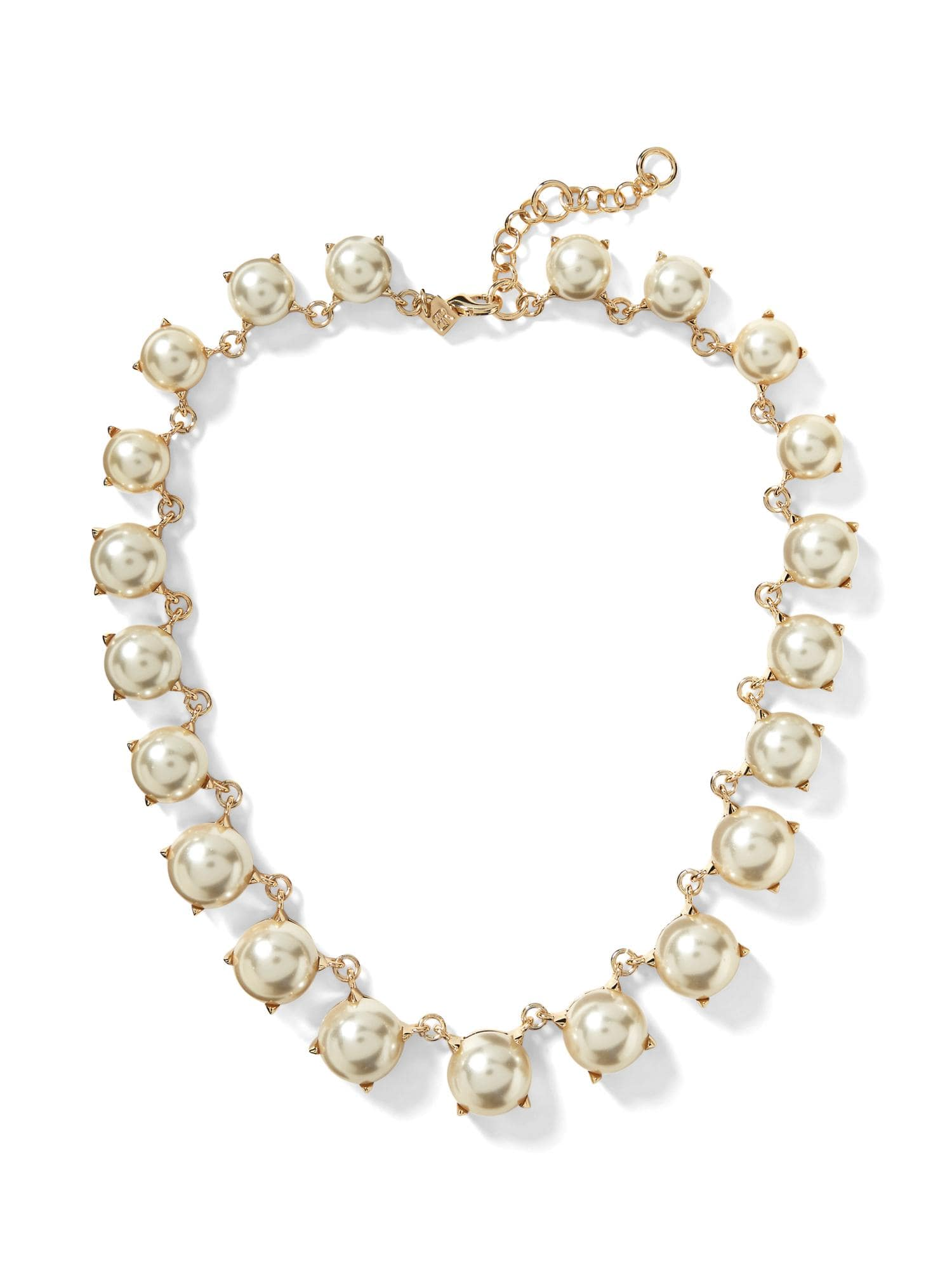 Modern Pearl Statement Necklace