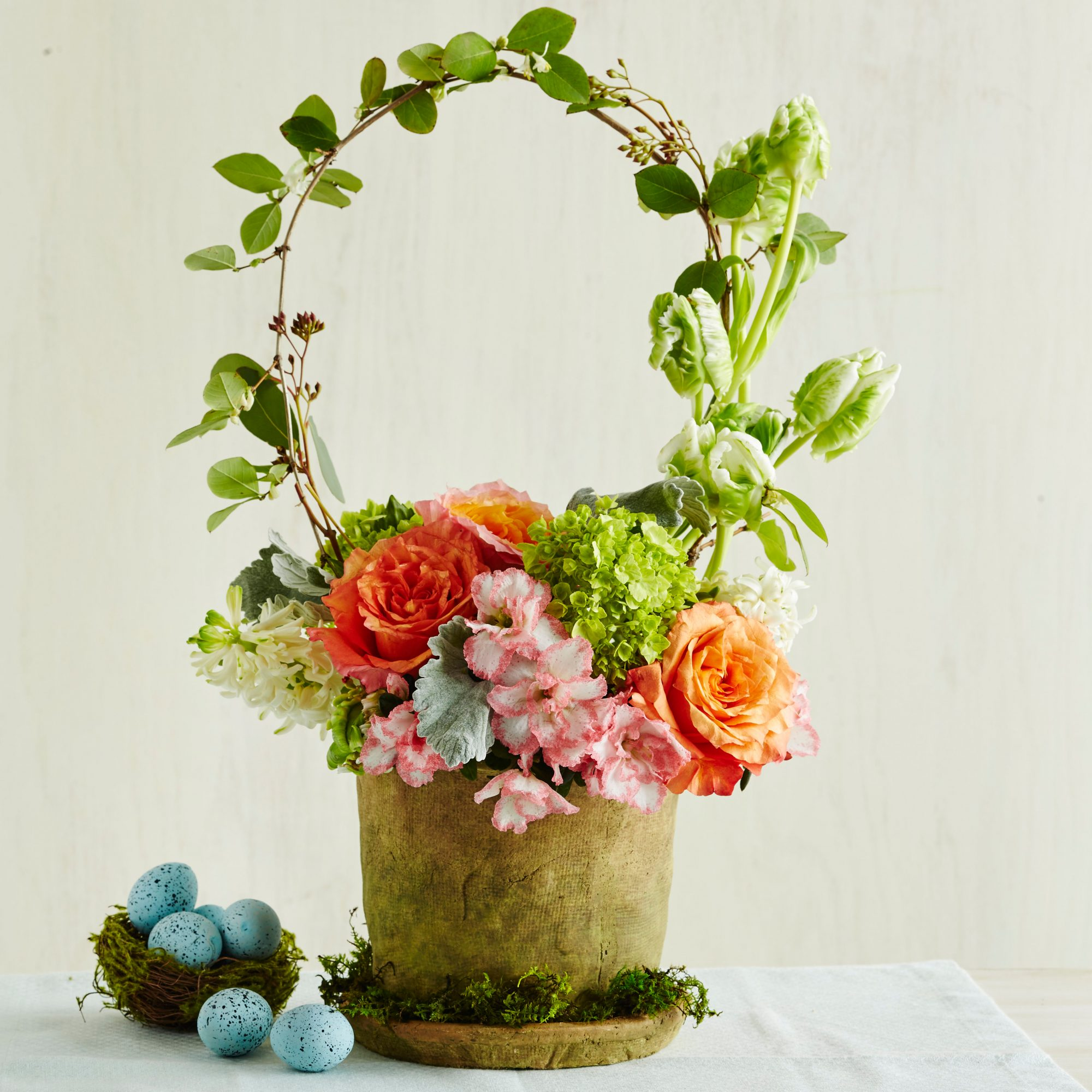 The Easter Basket Flower Pot