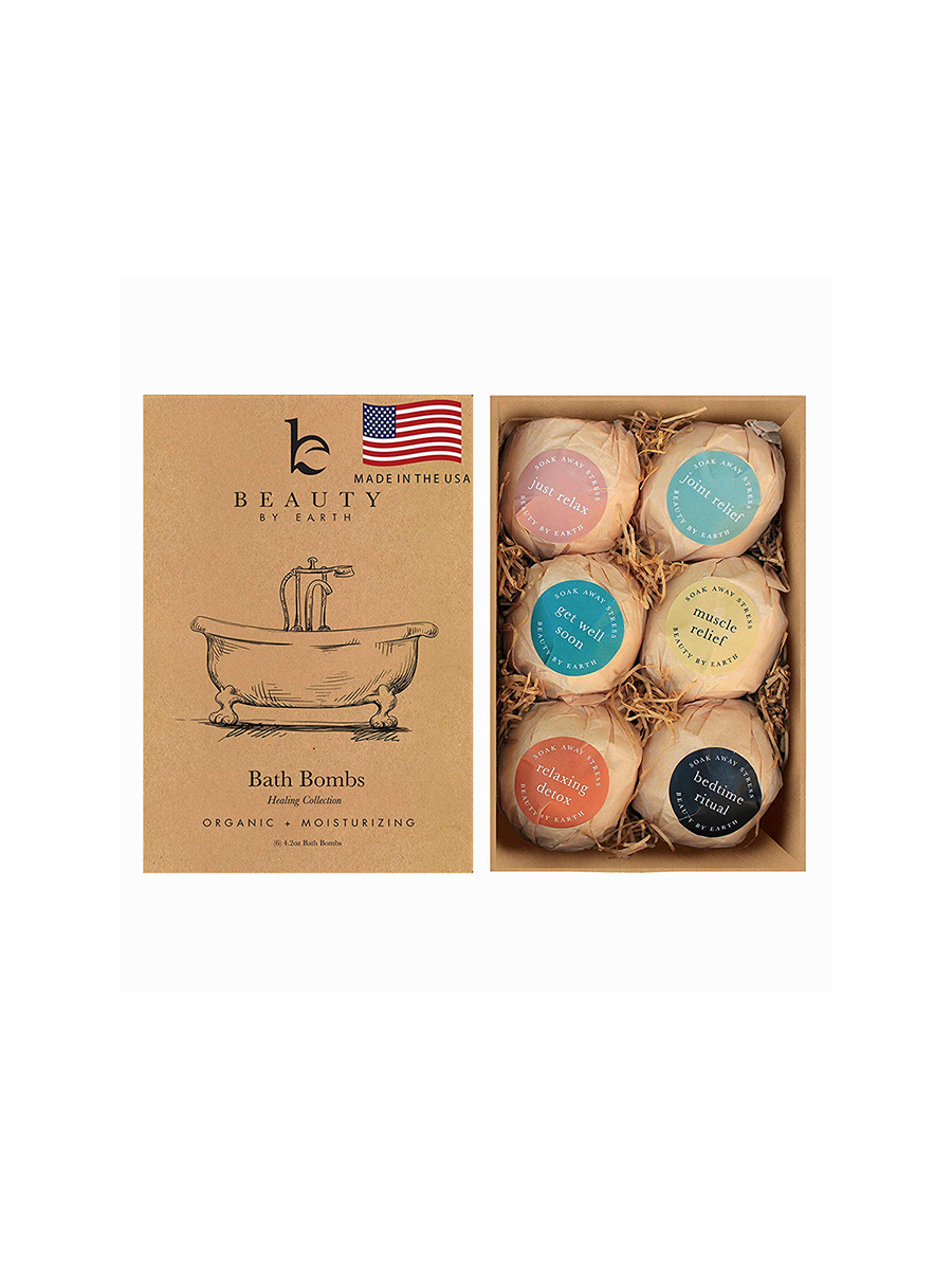 Beauty by Earth Bath Bomb Set