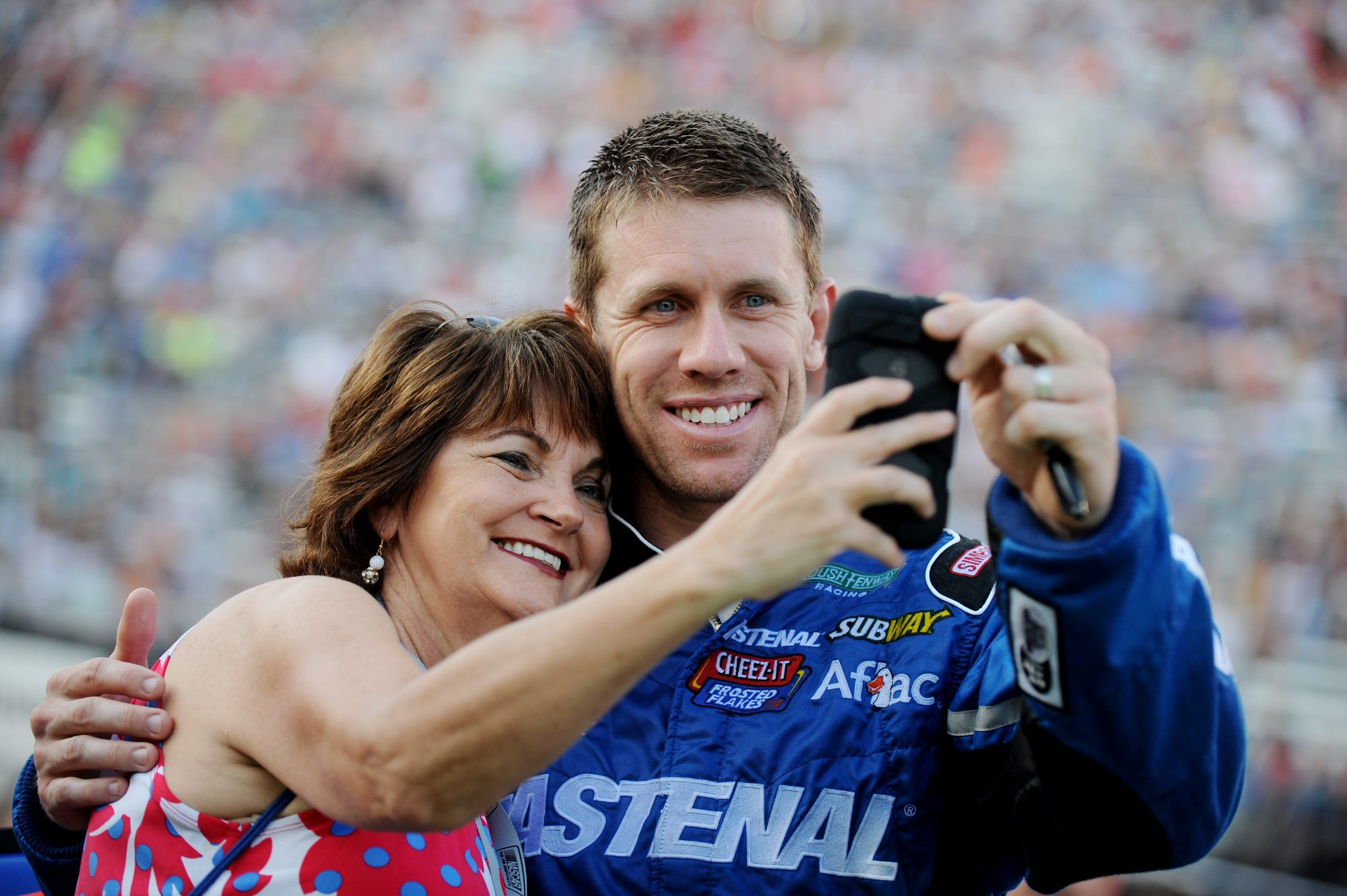 Carl Edwards, NASCAR in Bristol, TN