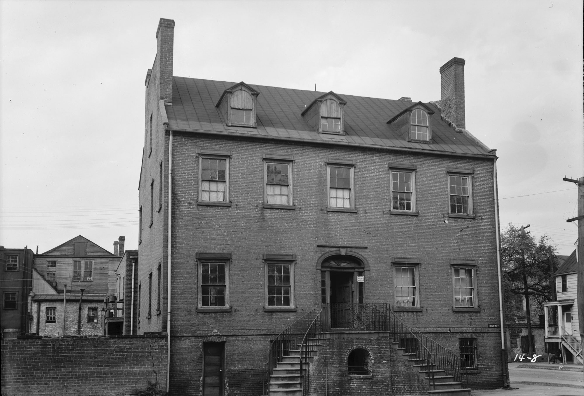 Davenport House Before Savannah