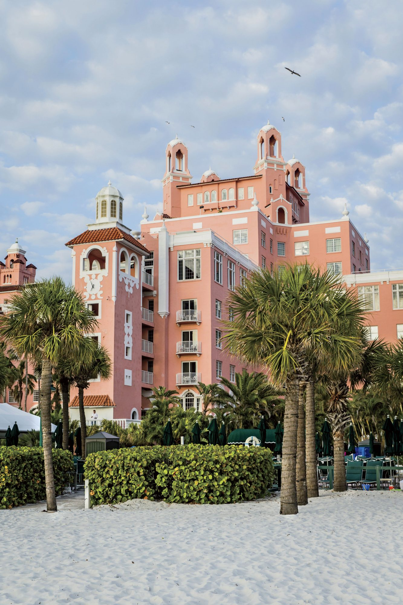 The Don Cesar Hotel in St. Petersburg, FL