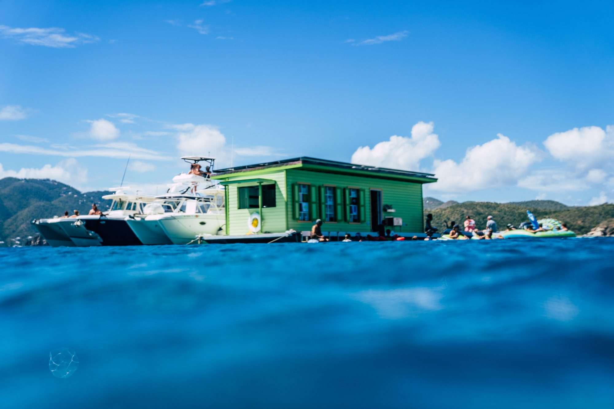 Lime Out Floating Taco Bar Caribbean Exterior