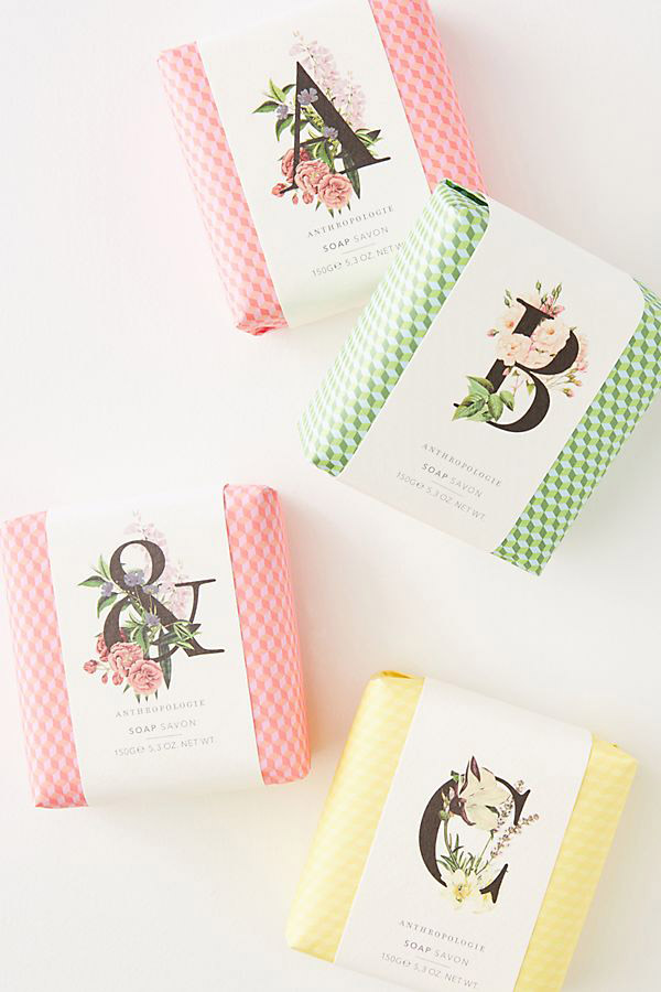 Garden Stories Monogram Bar Soap