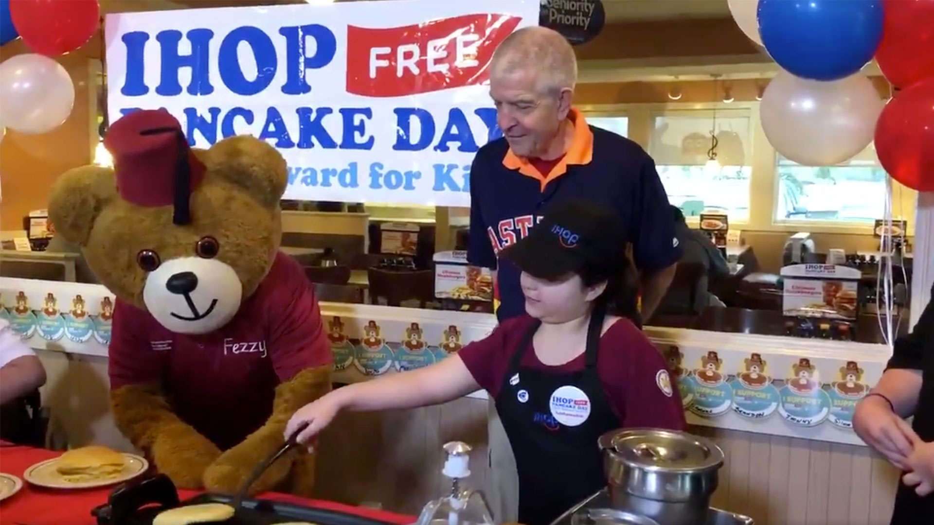 Mattress Mack IHOP