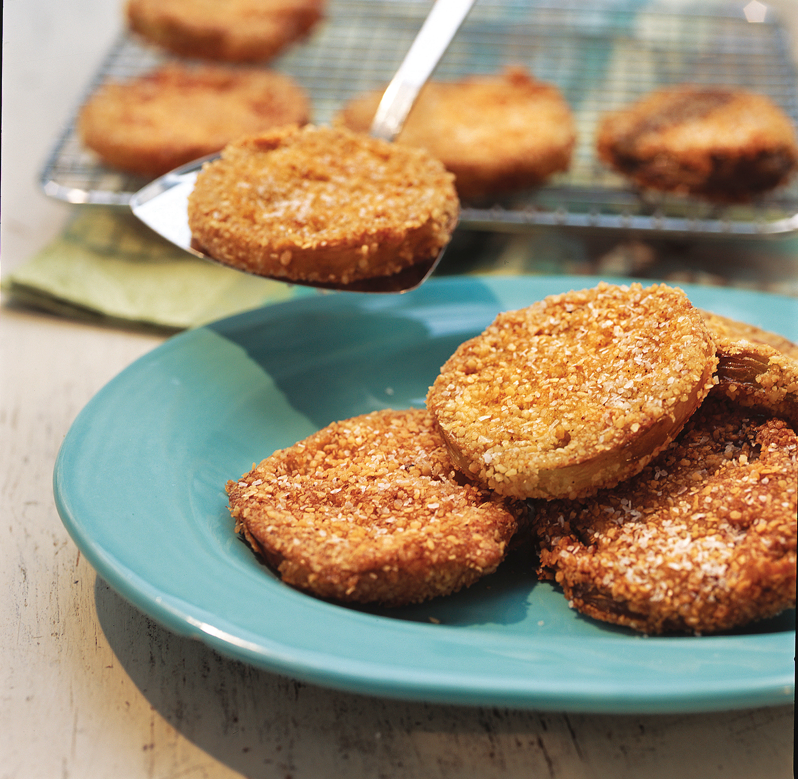 Matzo Meal Crunchy Fried Green Tomatoes