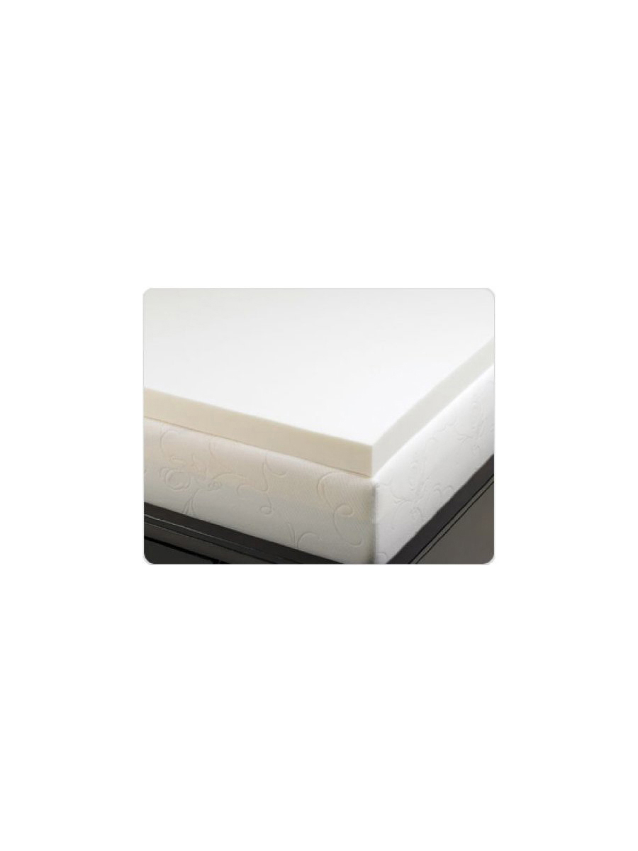 Three Inch Memory Foam Mattress Topper and Pad