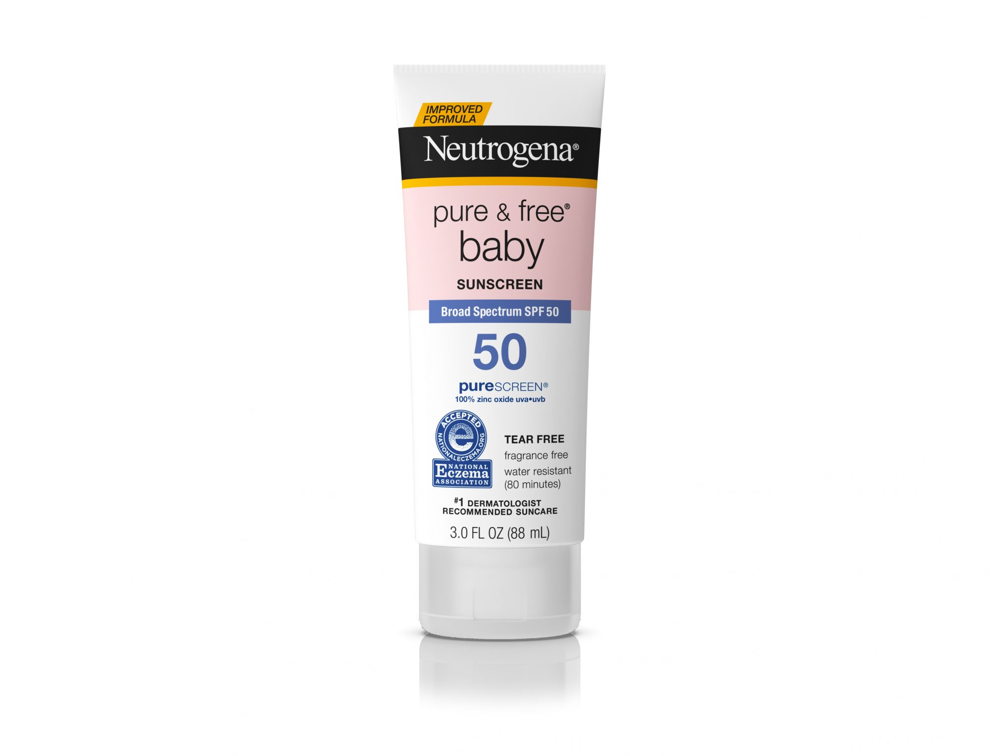 Neutrogena Pure & Free Baby Mineral Sunscreen with SPF 50