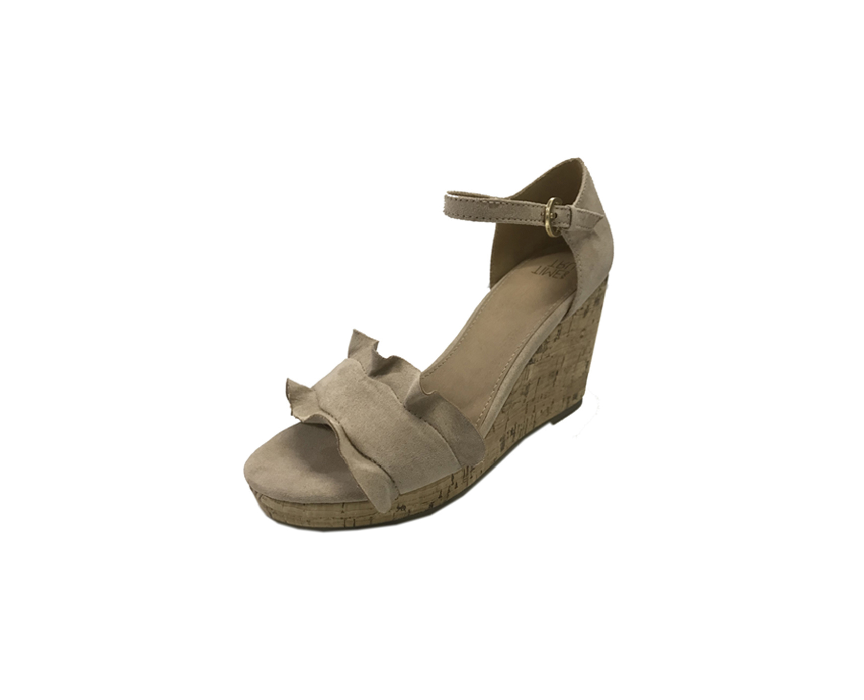 Time And Tru Ruffle Sandal