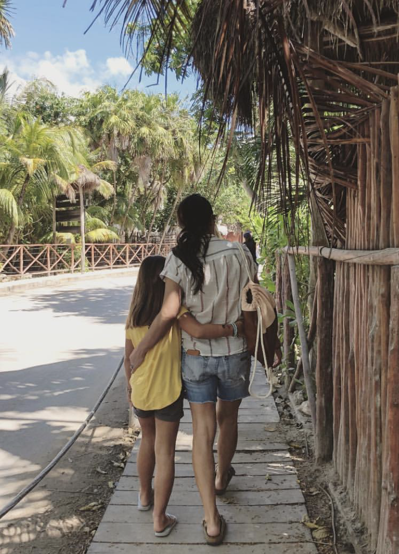 Joanna Gaines and Daughter on Vacation