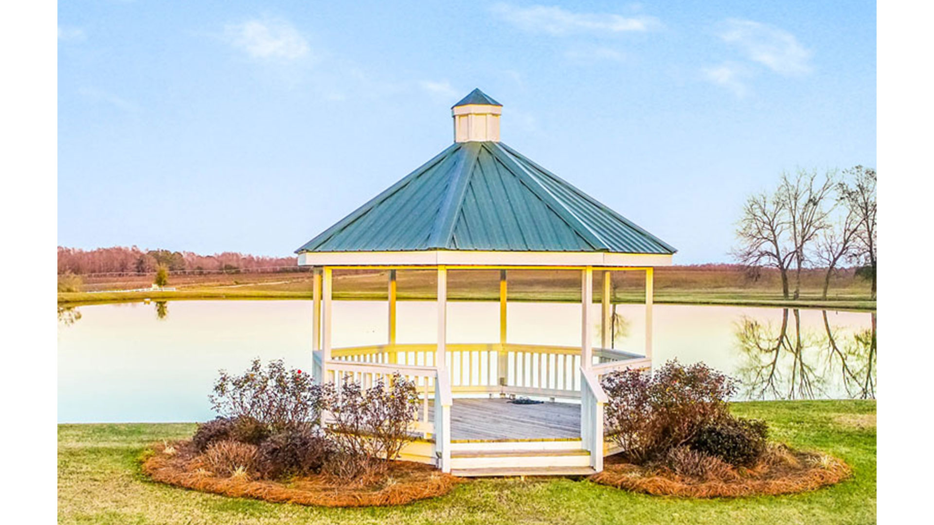 Twin Oaks Farm Georgia Wedding Venue Gazebo