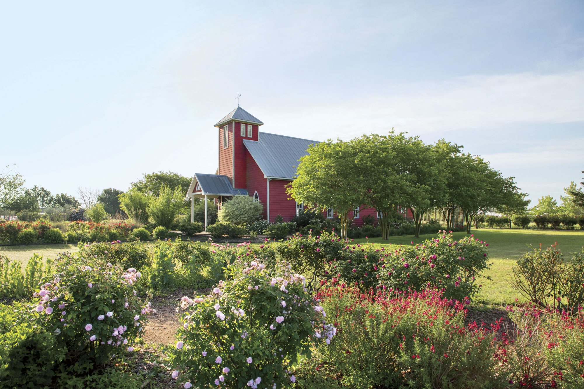 Antique Rose Emporium Barn in Brenham, TX
