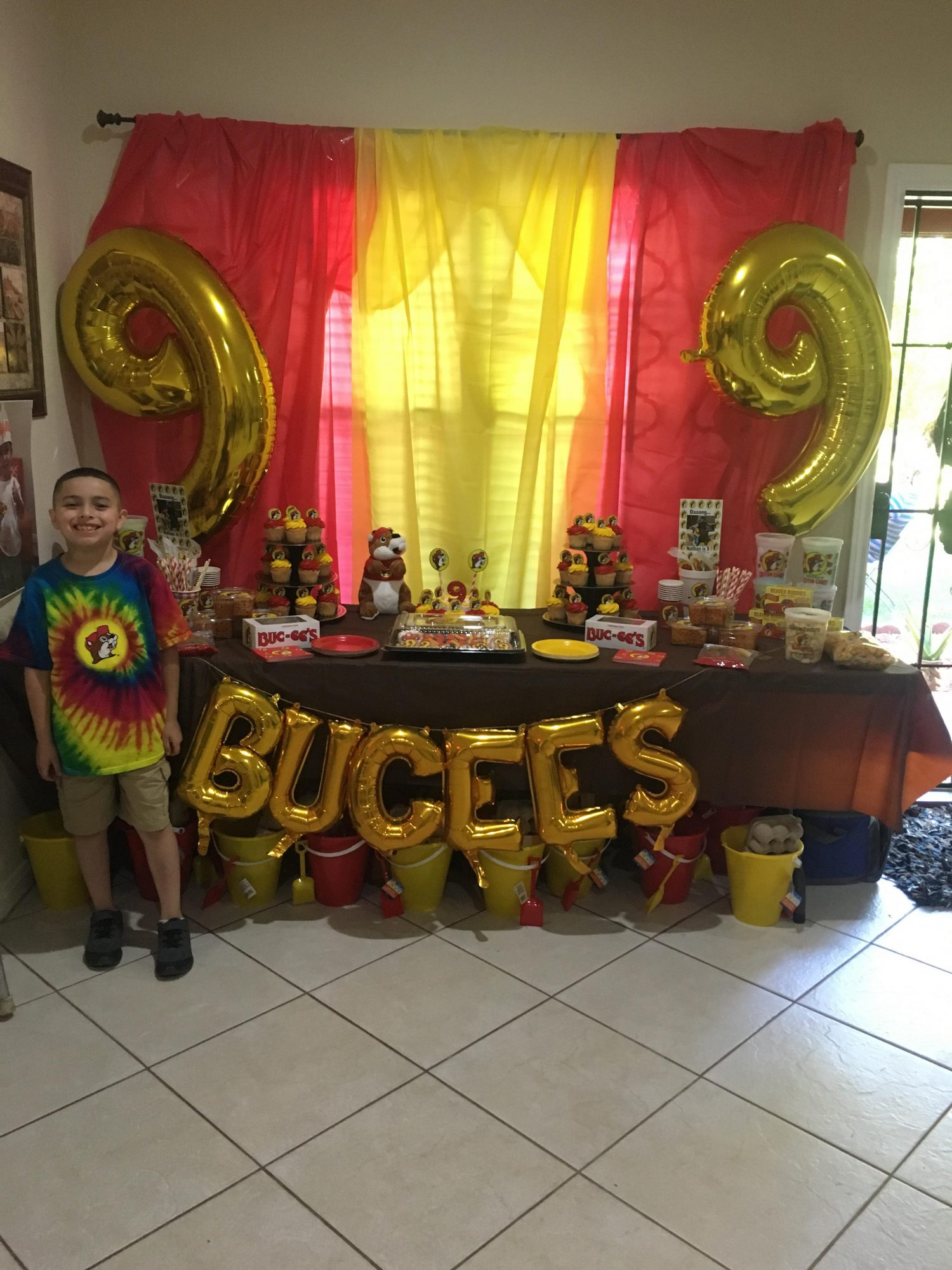 Buc-ee's Birthday Party