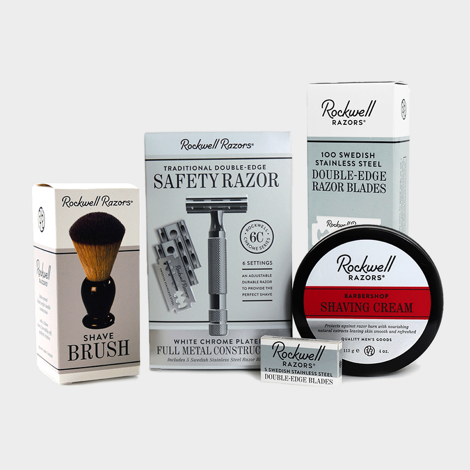Rockwell 6C - Safety Razor Shaving Kit