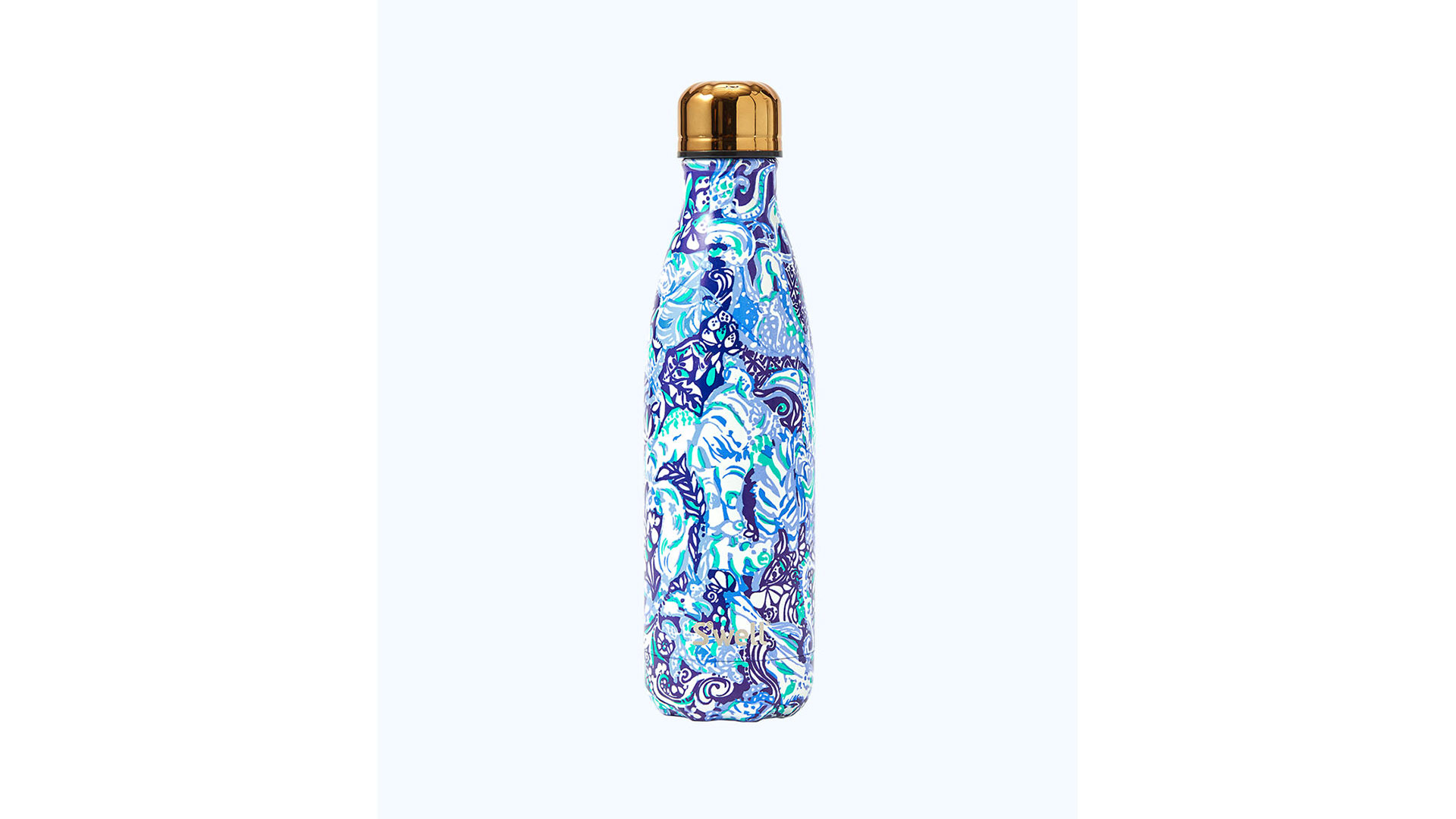 Lilly Pulitzer S'well Water Bottle Royal Purple