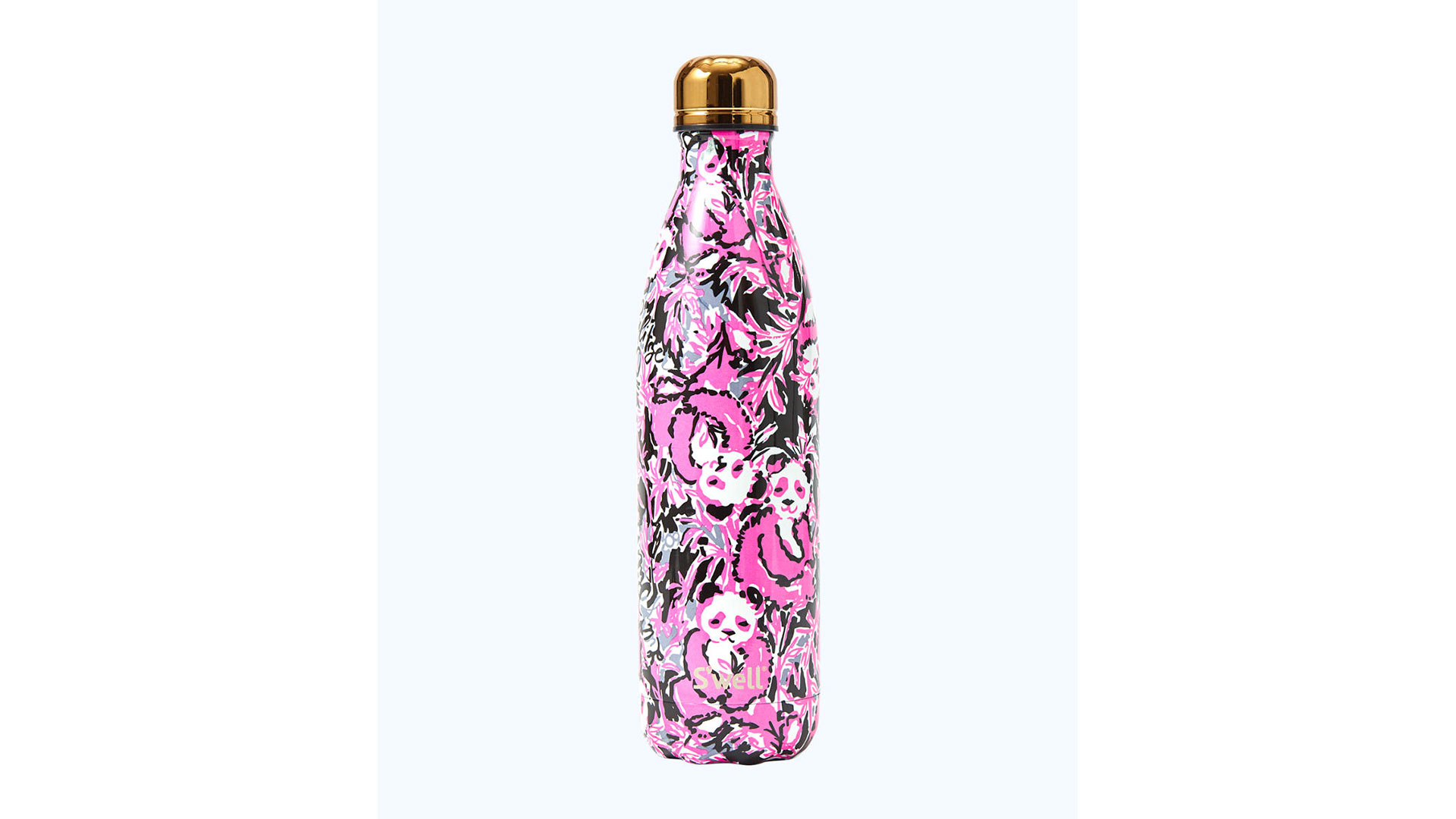 Lilly Pulitzer S'well Water Bottle Pink Hibiscus