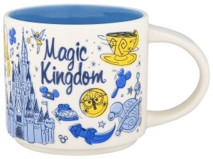 Disney and Starbucks Release New Retro Mug Collection: Here's Where and How to Get Them magic-kingdom-starbucks