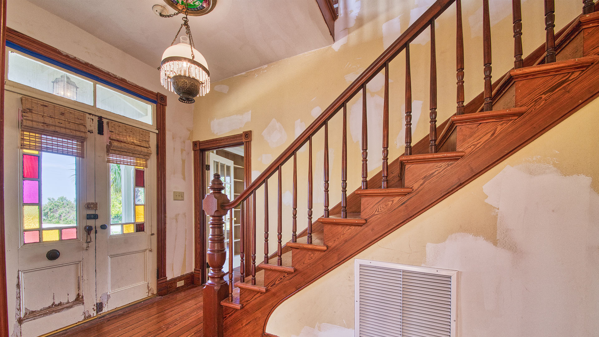 Pippi Longstocking House Fernandina Beach Staircase