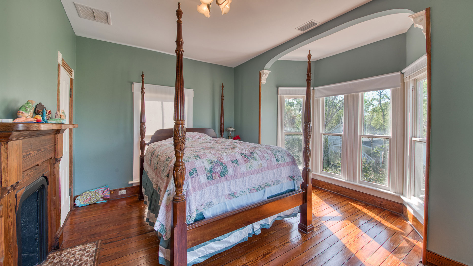 Pippi Longstocking House Fernandina Beach Master Bedroom