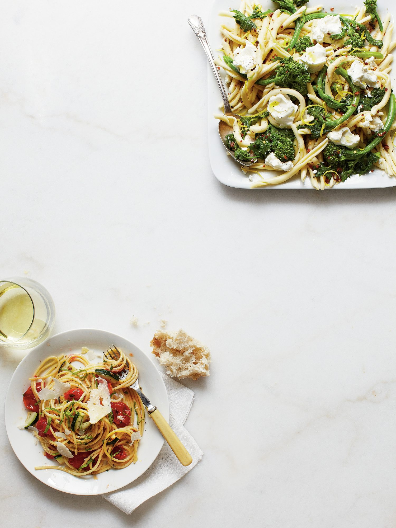 Lemony Broccoli Rabe Pasta