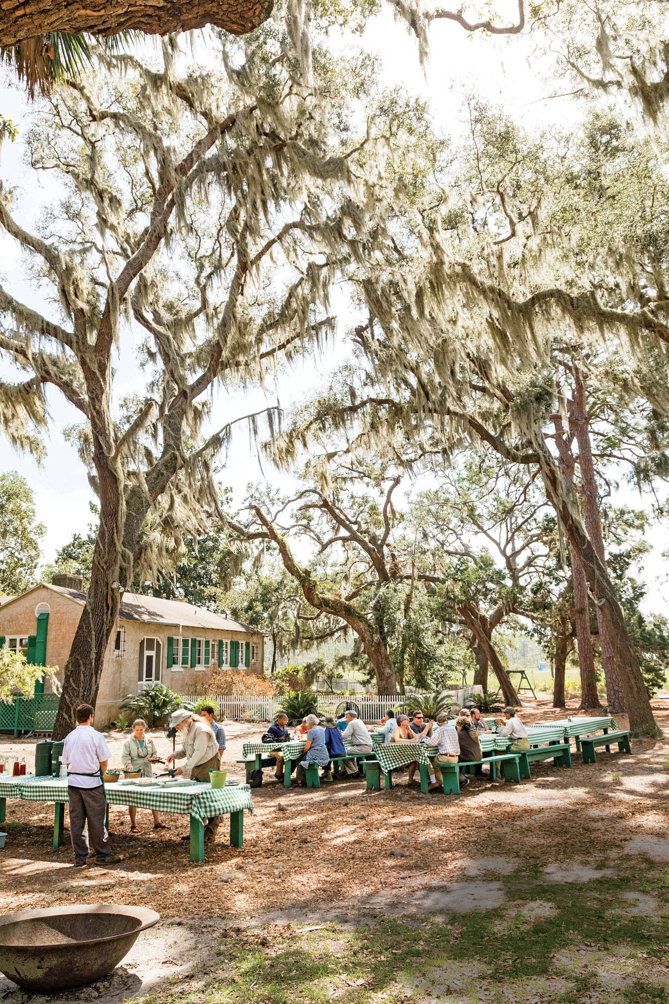 Lodge on Little St. Simons Island in Georgia