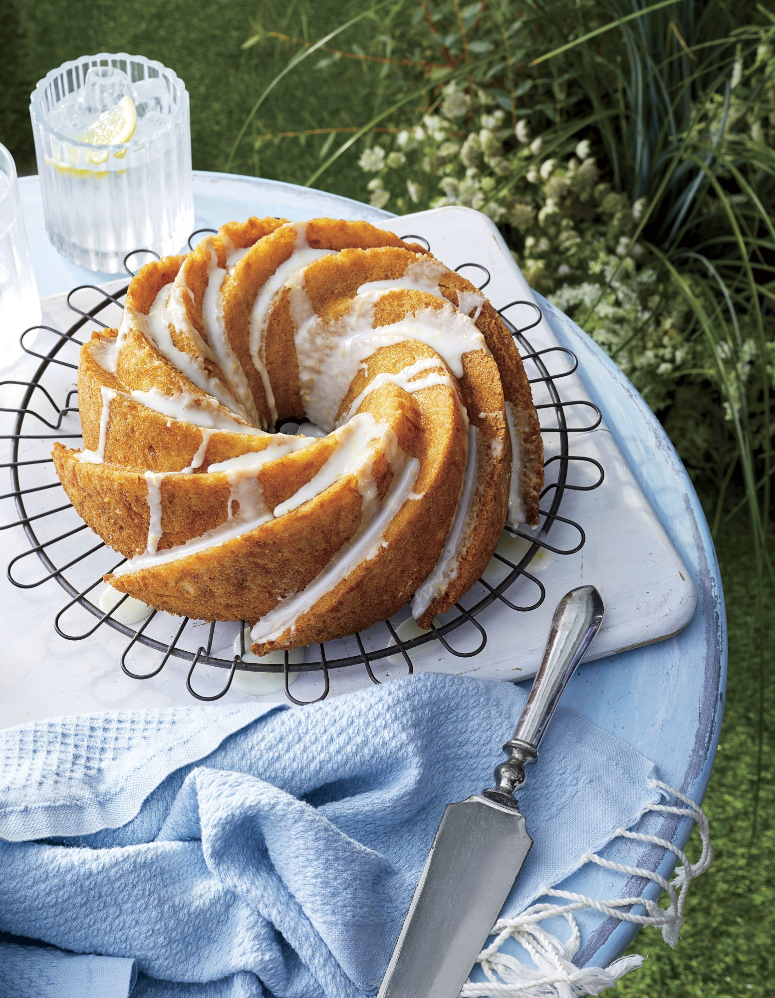 Yellow Squash Bundt Cake