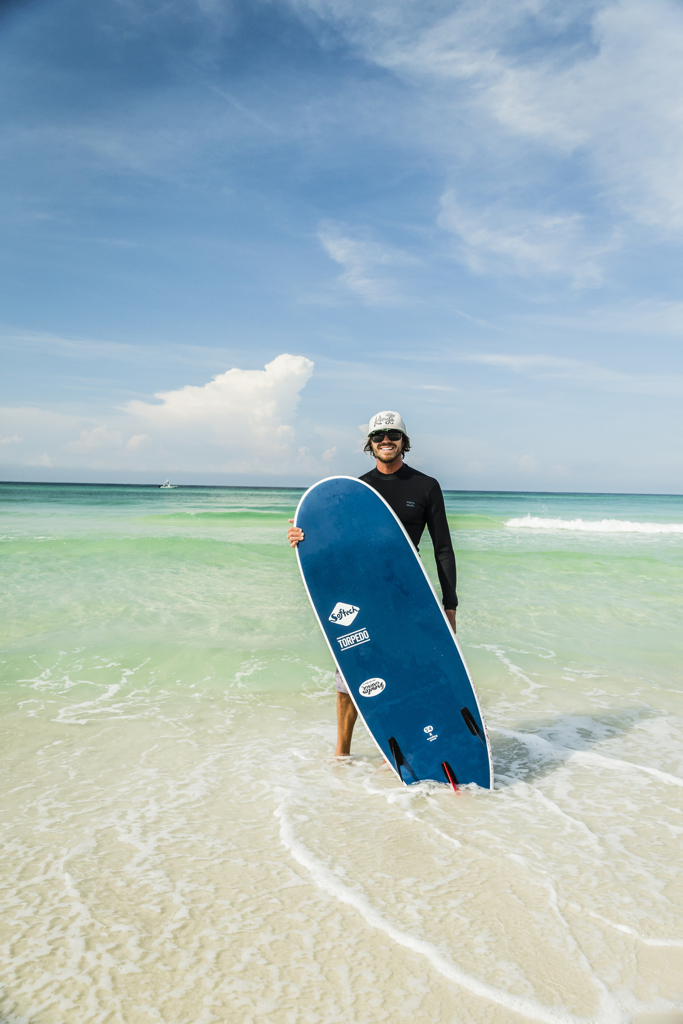 Book a lesson at Austin McGee's Surf School