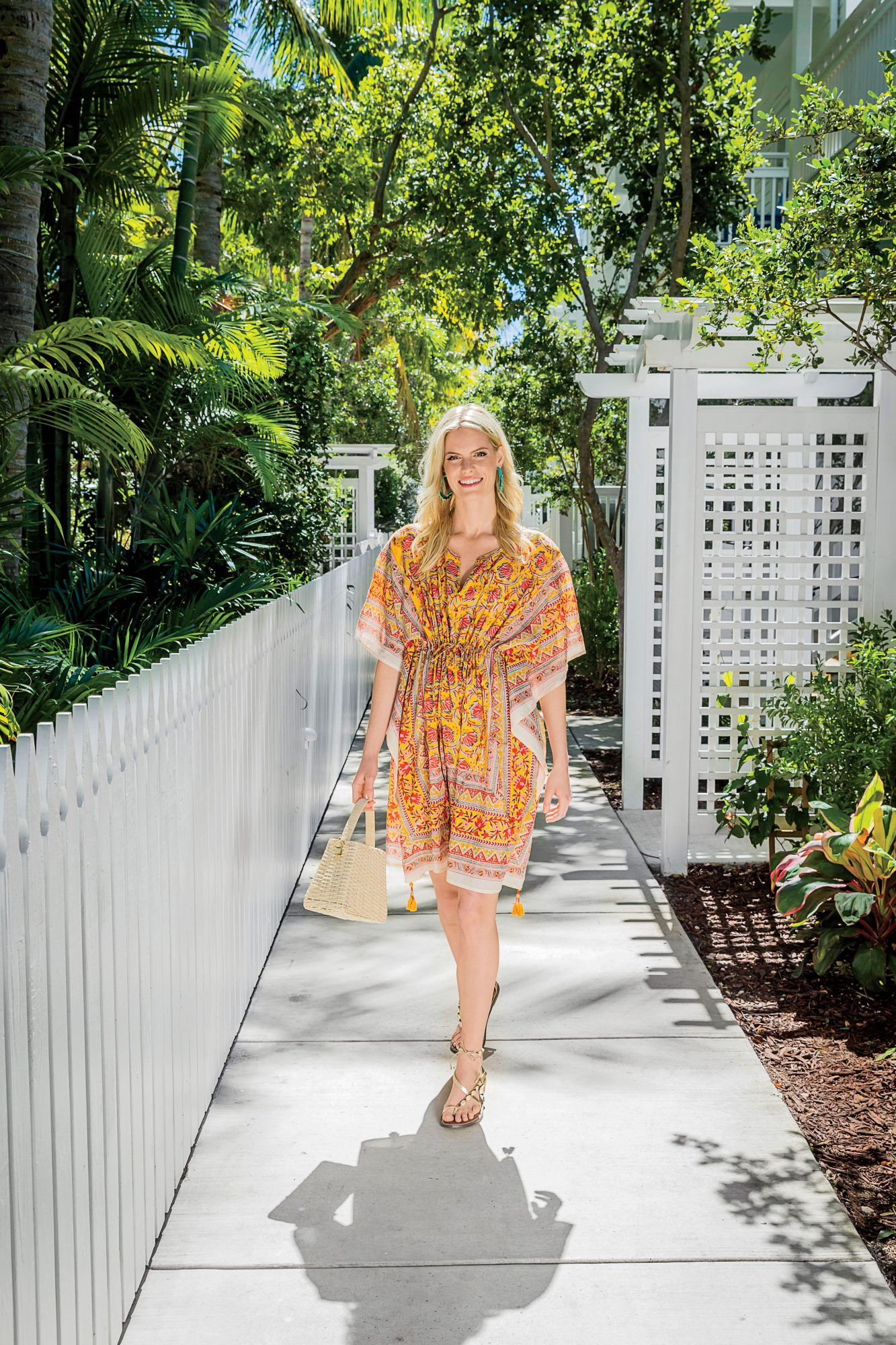 Midi Dress Summer Outfit