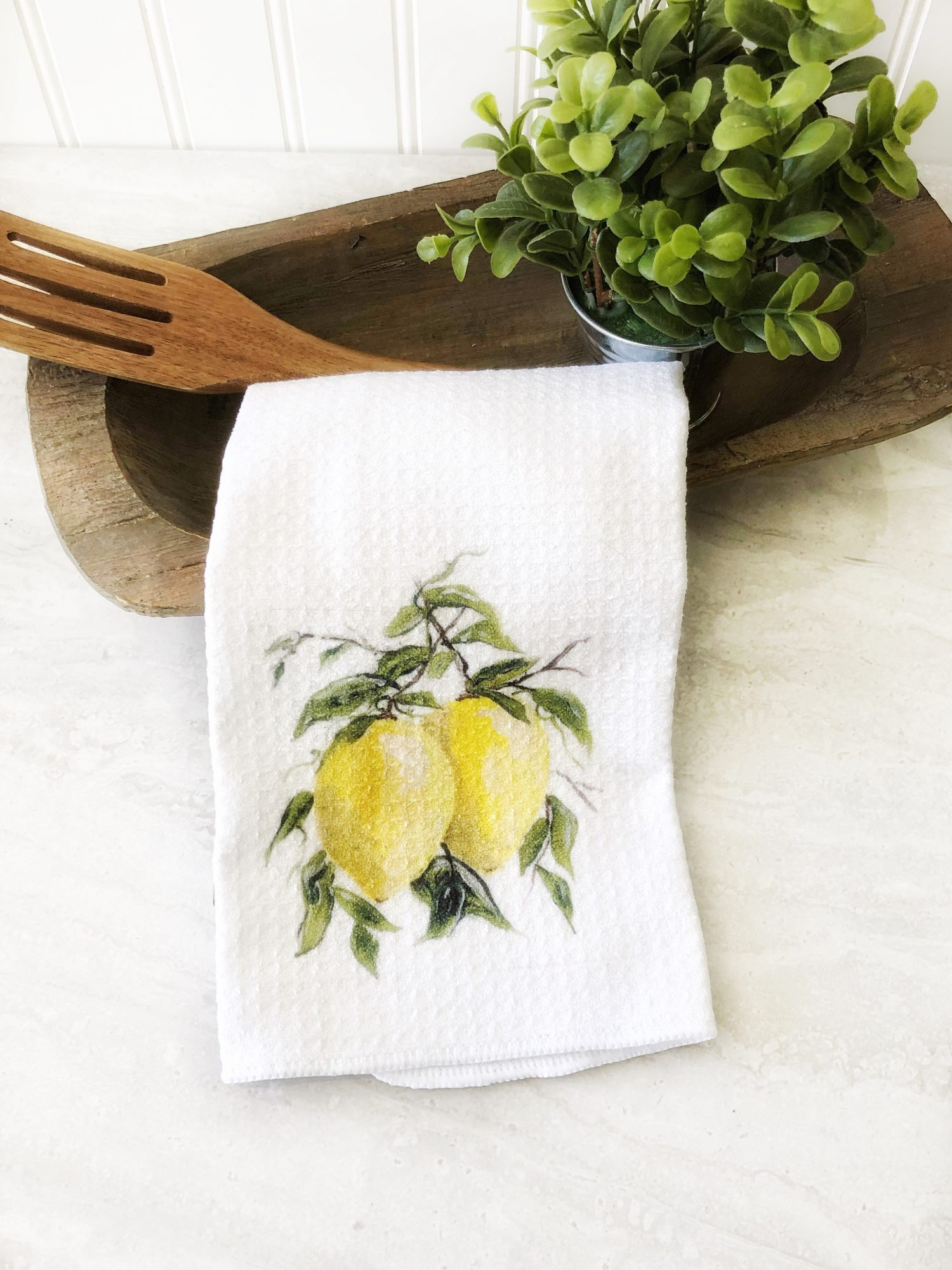 Prince Design Hand Painted Tea Towel, $14.95