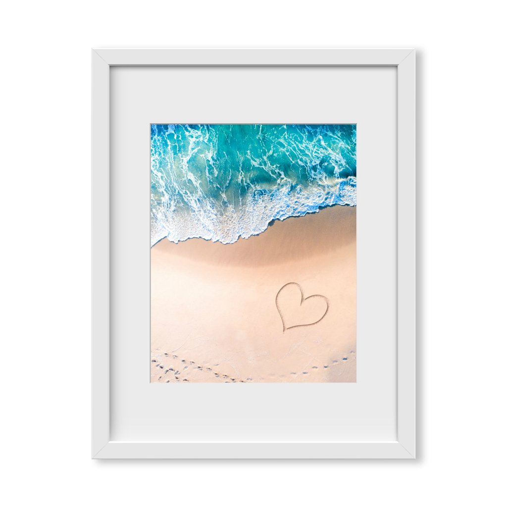 "ArtSugar ""Beach Love"" Framed Print by Jaxon Roberts, from $120"