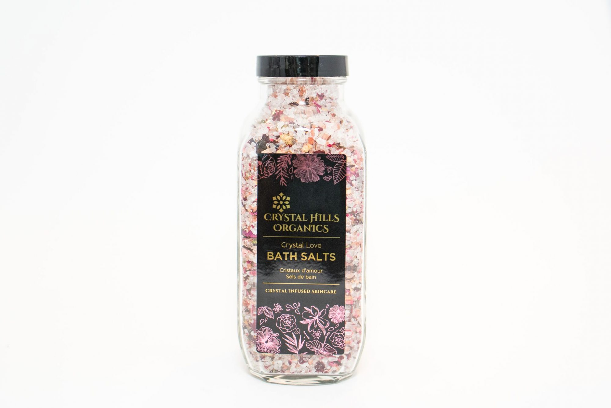 Crystal Hills - Crystal Love Bath Salts, $40