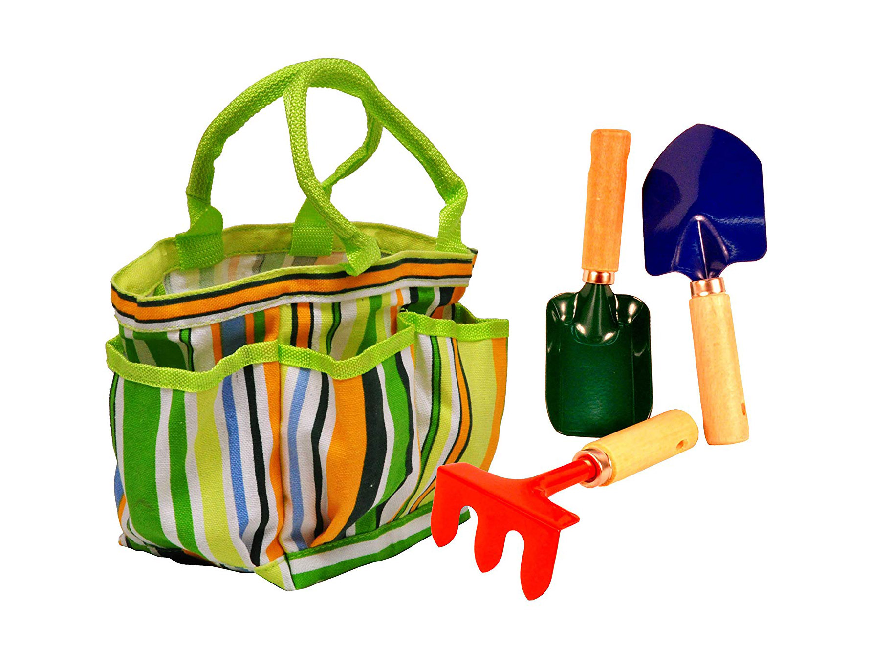 Kids Garden Tools Set with Tote