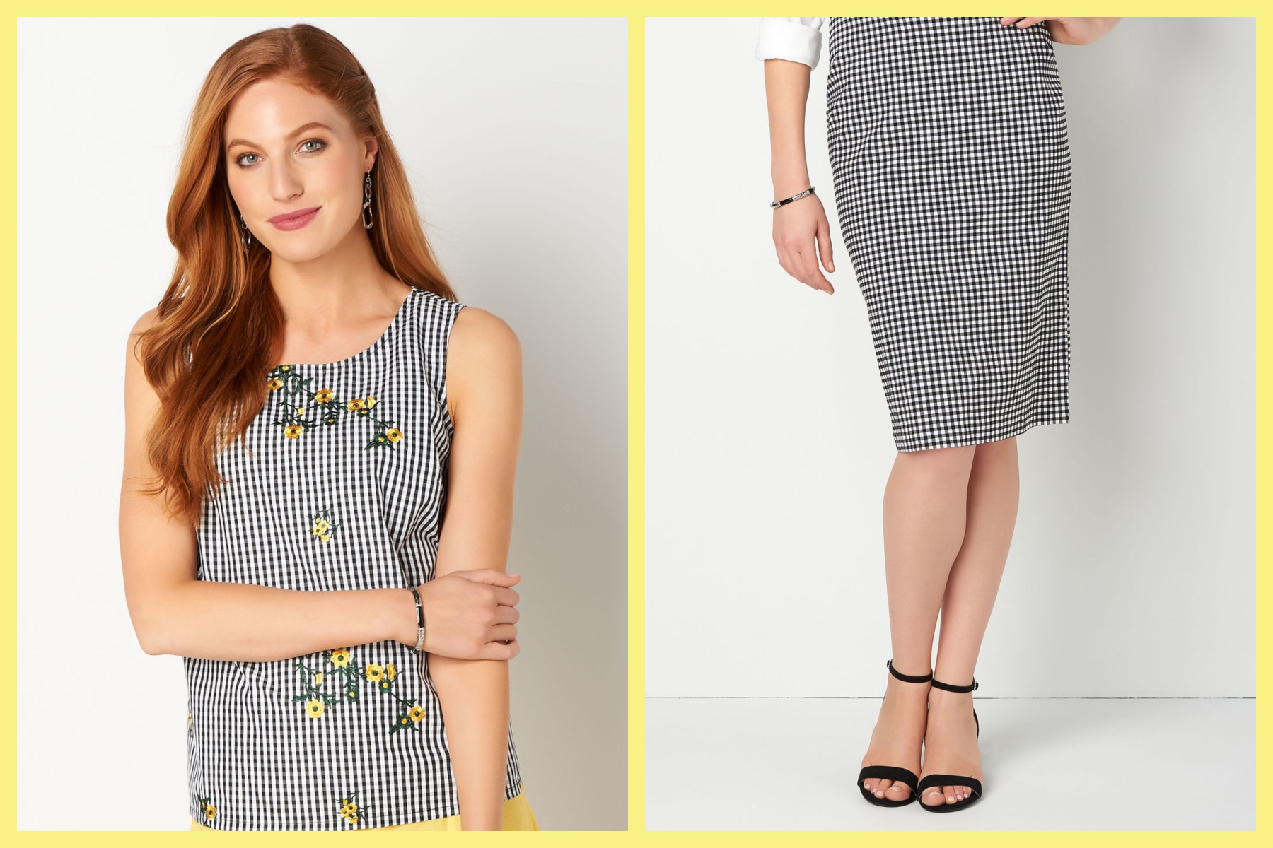 Gingham Clothes for Summer