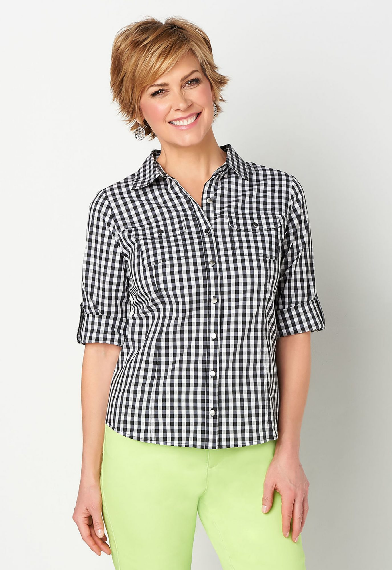 Gingham Essential Shirt