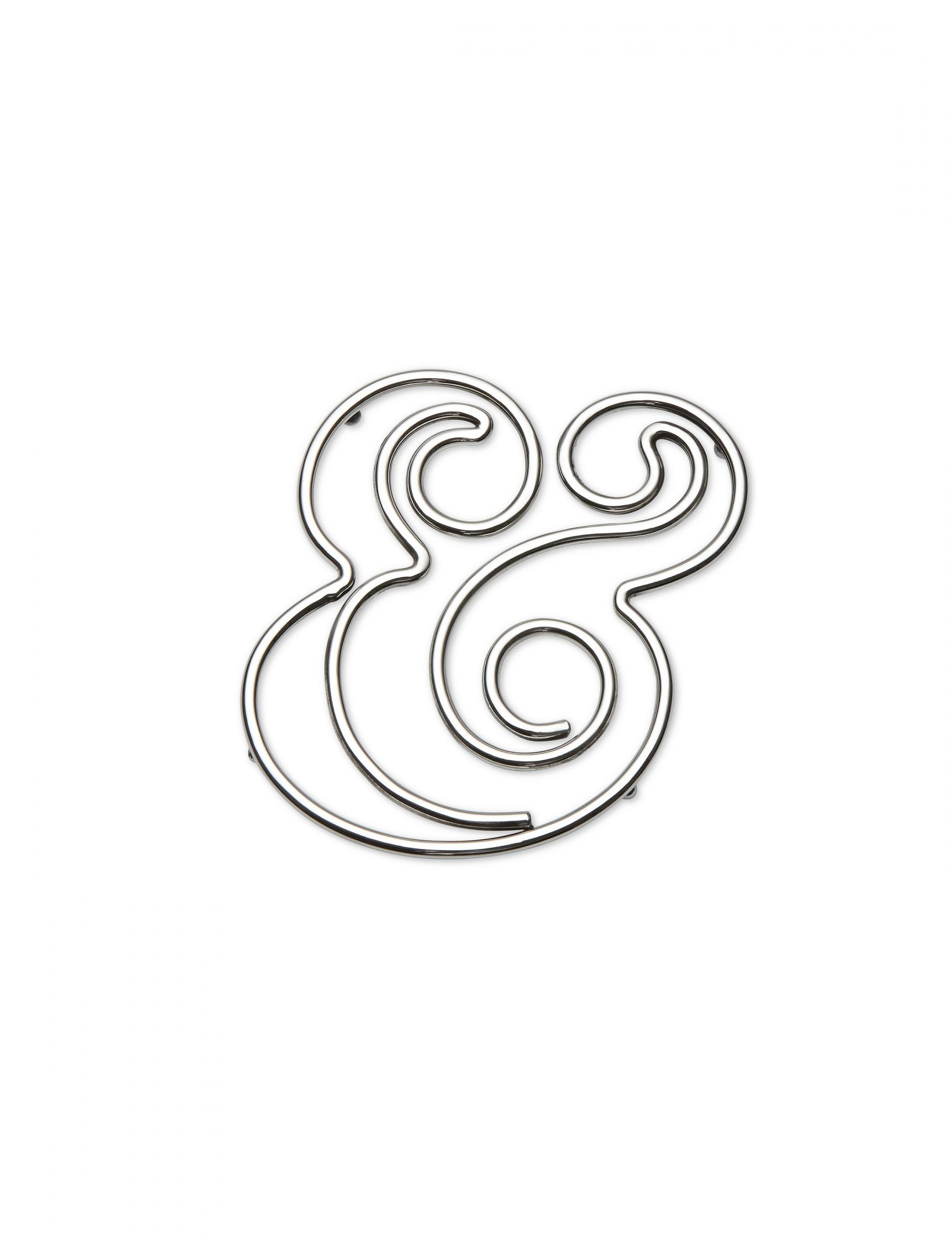 Kate Spade New York Stainless Steel Ampersand Trivet