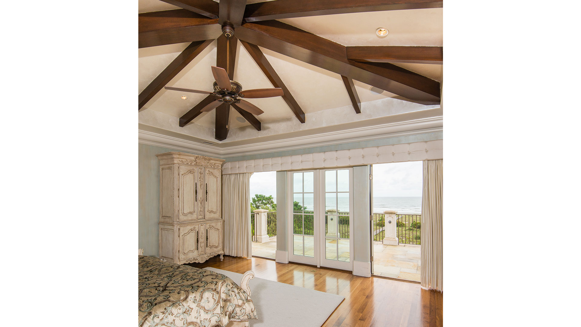 Kiawah Island Club Ocean Palms Master Bedroom