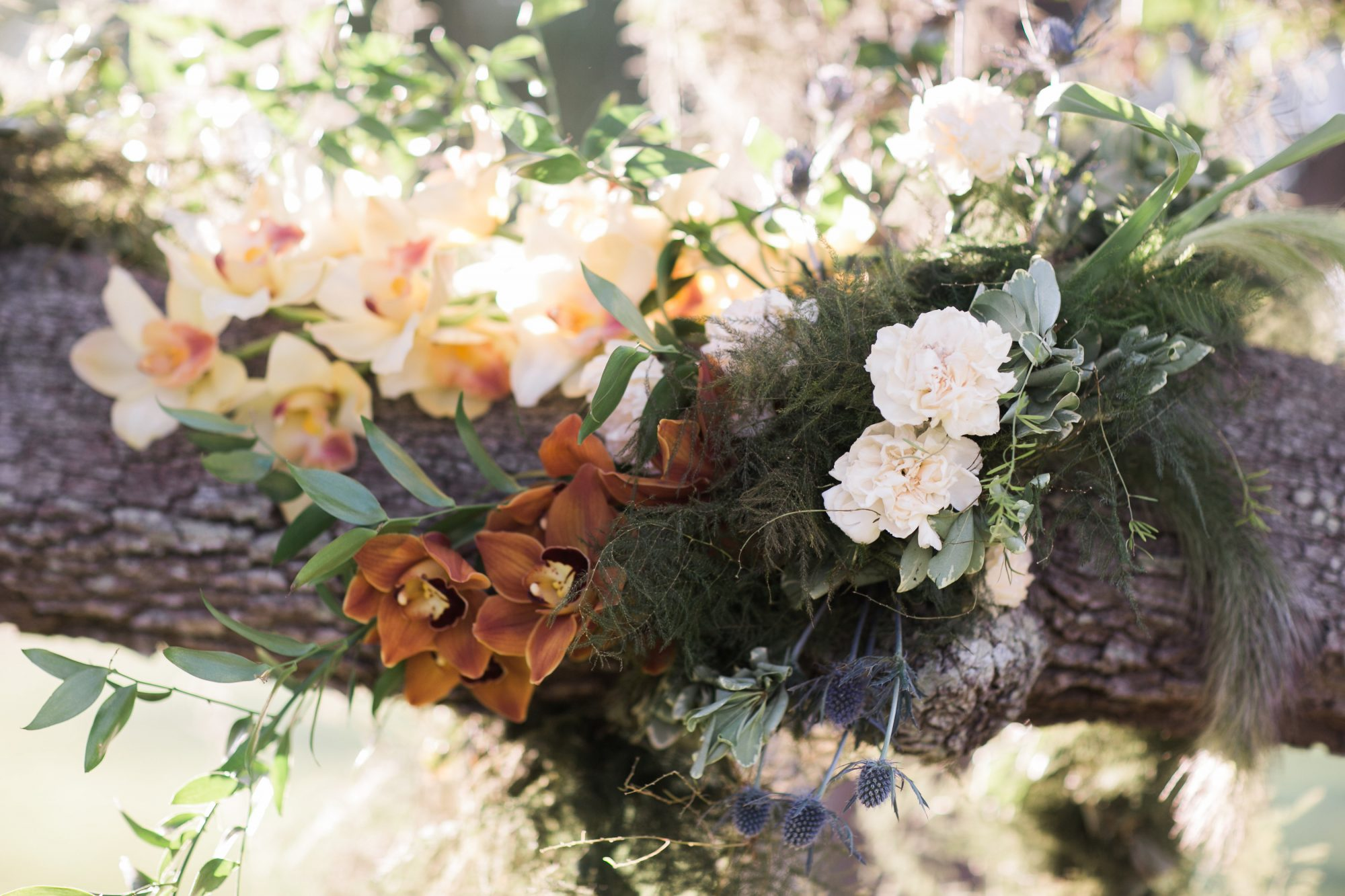 Understated Outdoor Wedding Ceremony Embellishments