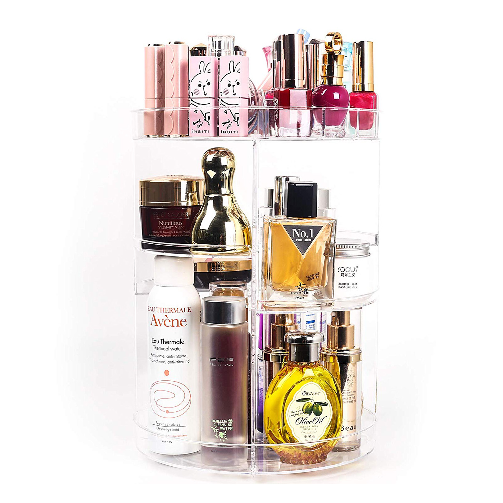 Spinning Makeup Organizer