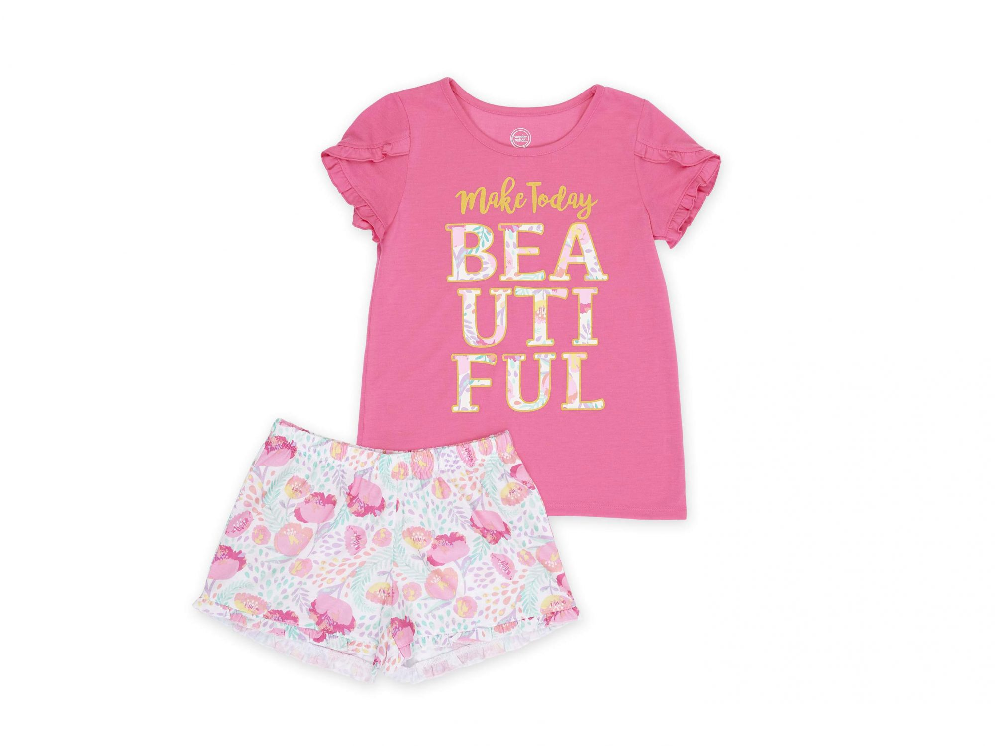 Pajama Short Set