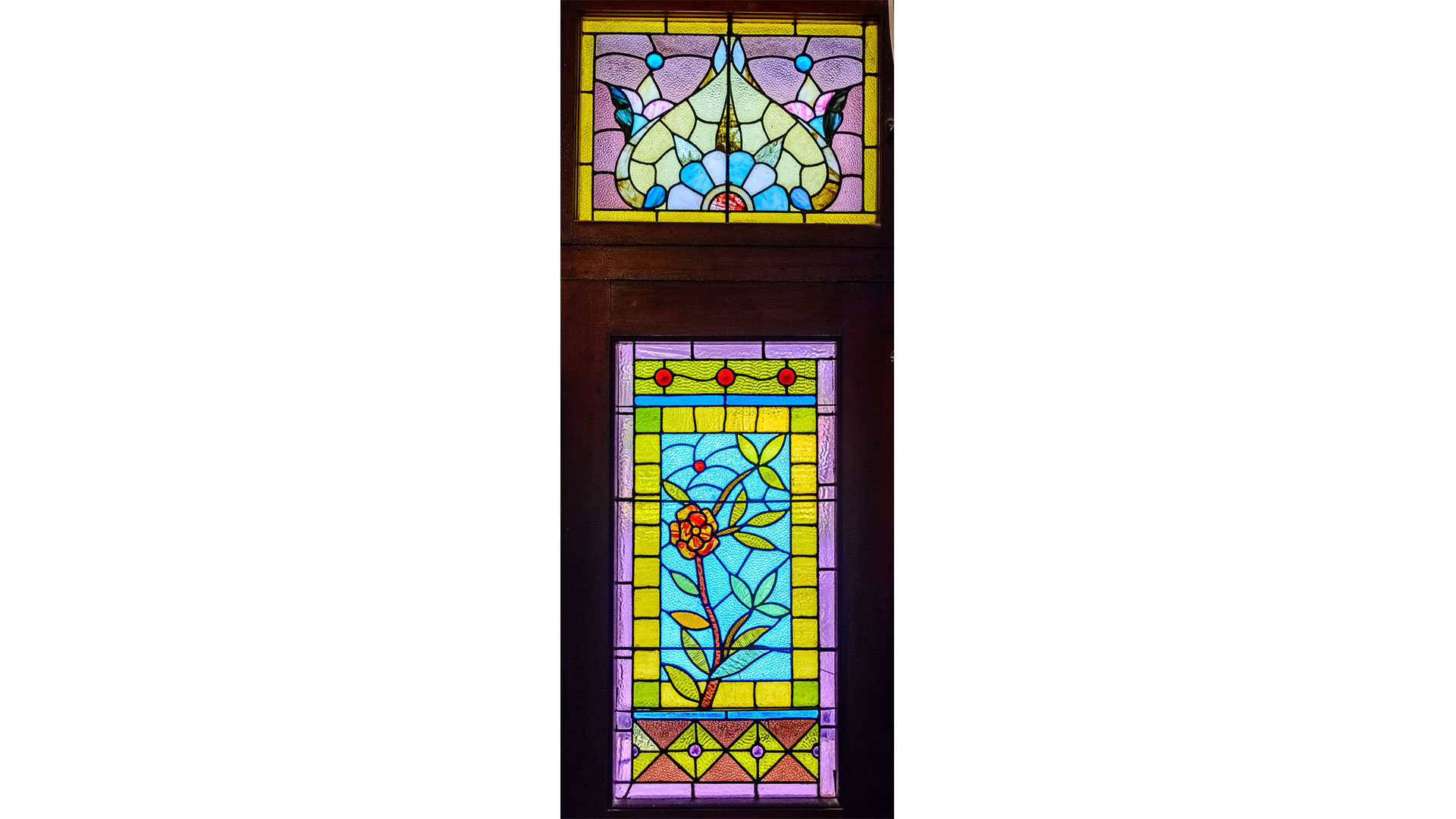 The Seaquist House Mason TX Stained Glass