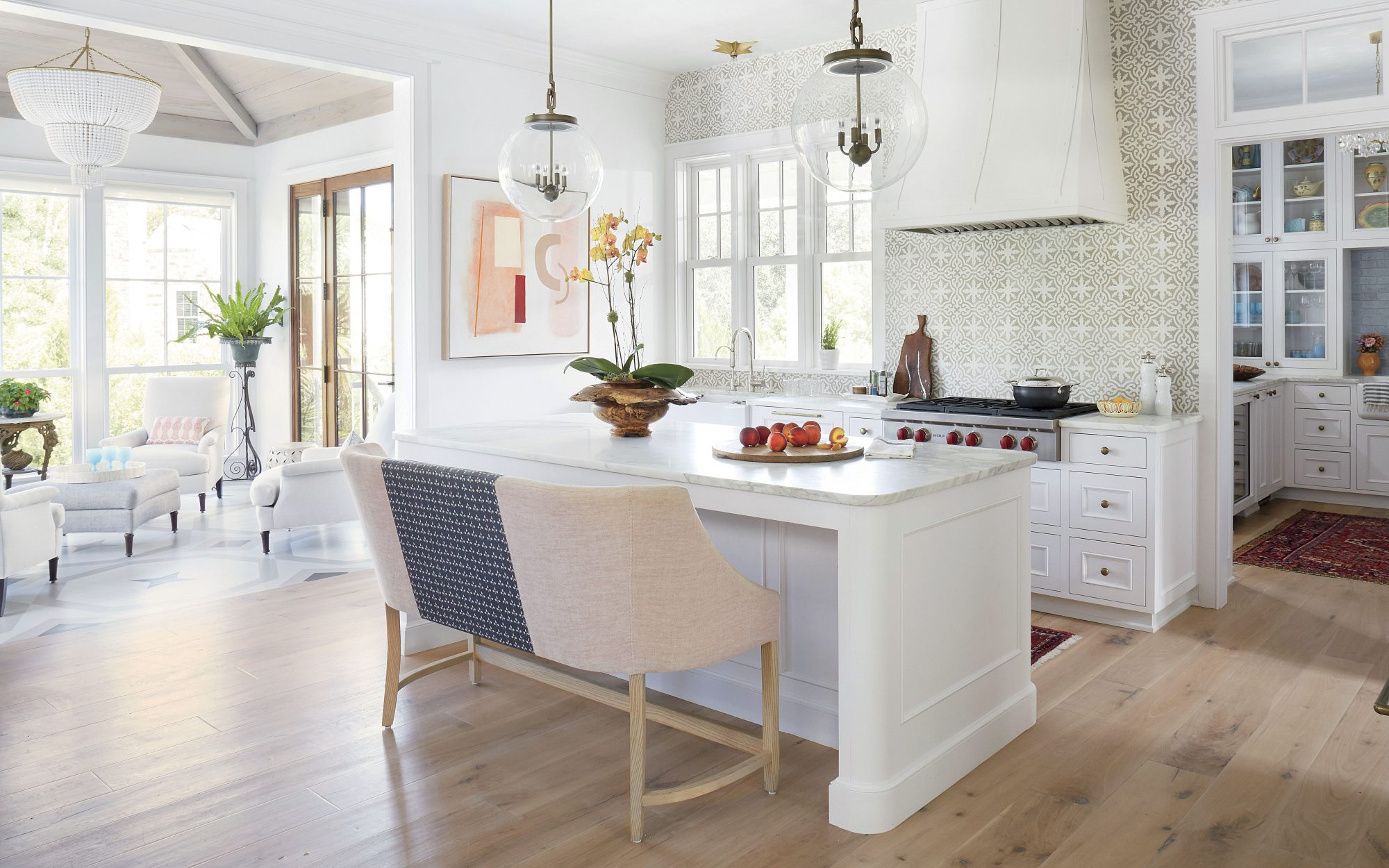Jenny Keenan Designed Kitchen for Her Parents in Mount Pleasant, SC