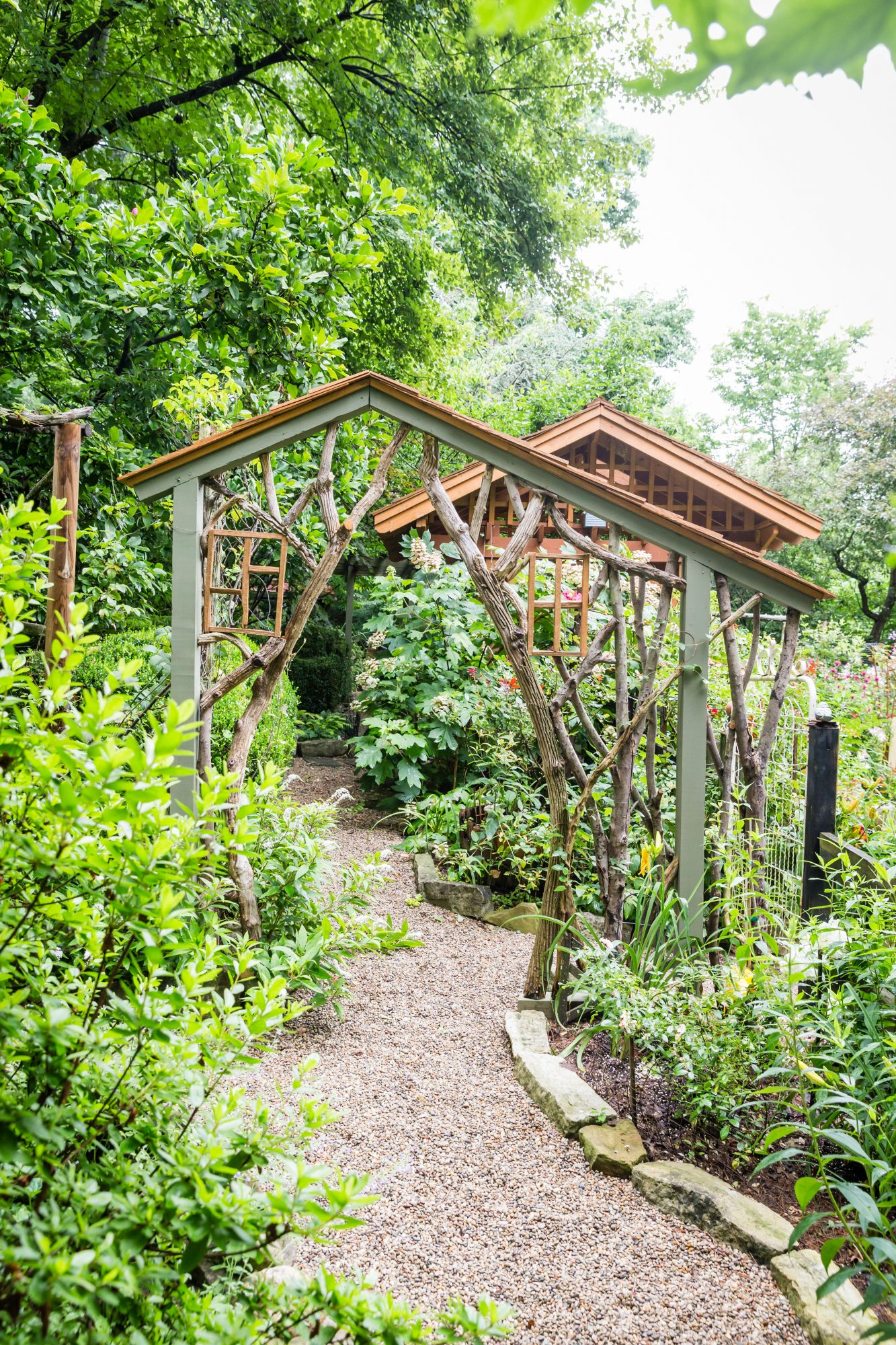 Mary Startzman Garden in Berea, Kentucky