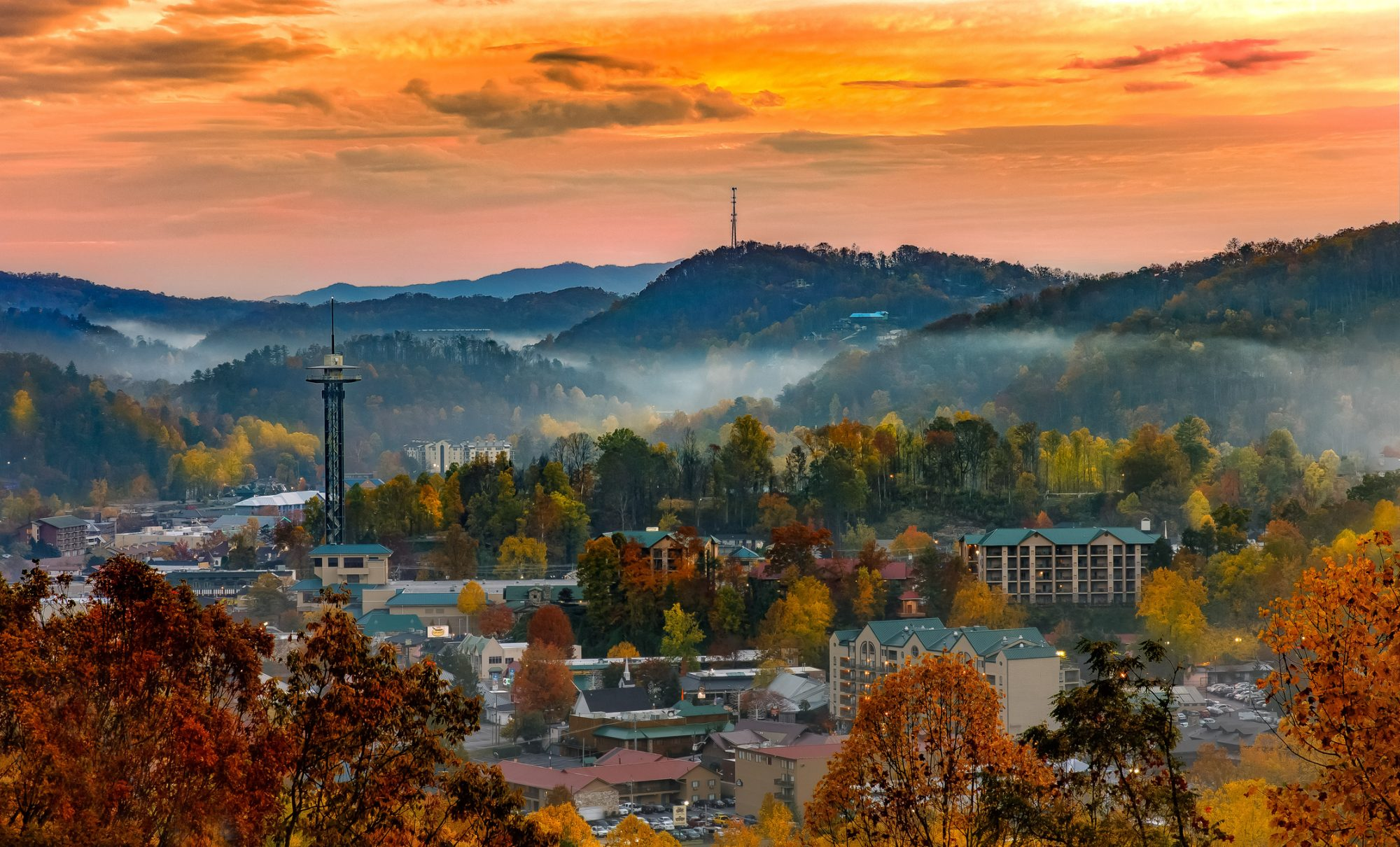 1. Gatlinburg, Tennessee