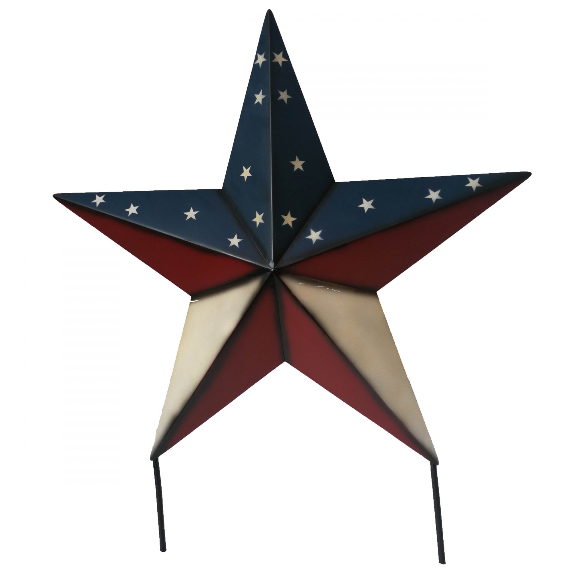 Patriotic Metal Star Hanging or Yard Stake, $44.99