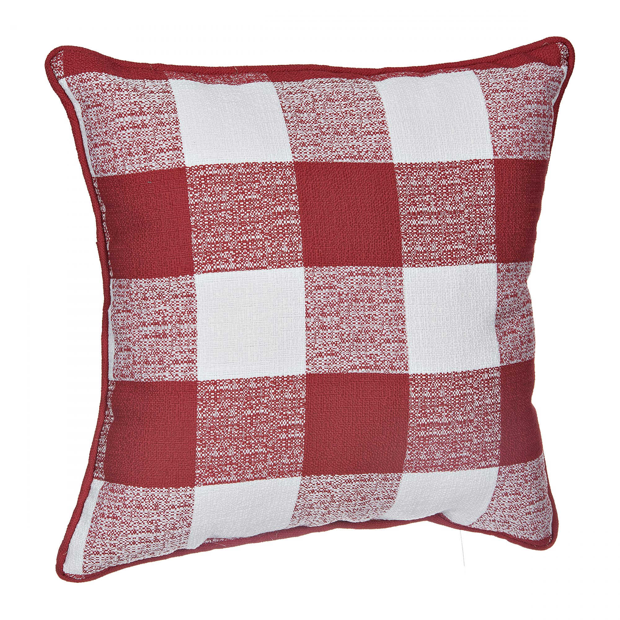 Red Buffalo Check Pillow, $19.99